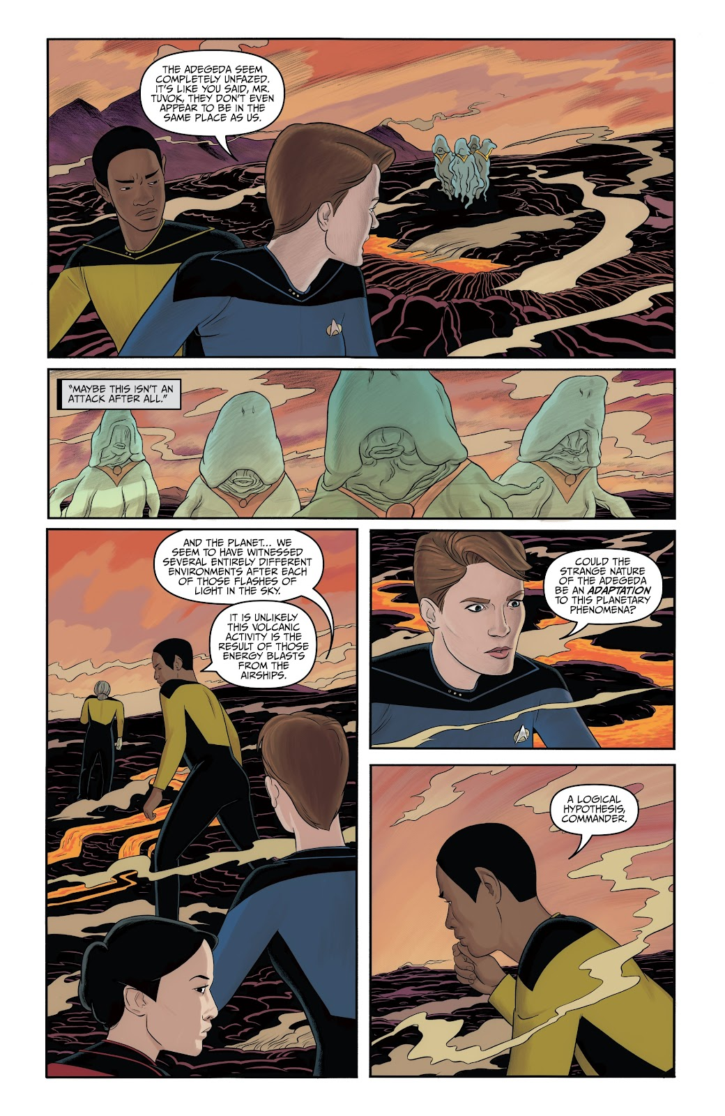 Read online Star Trek: Waypoint Special 2019 comic -  Issue # Full - 29