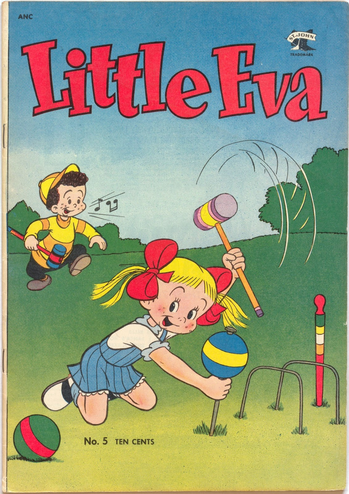 Little Eva issue 5 - Page 1