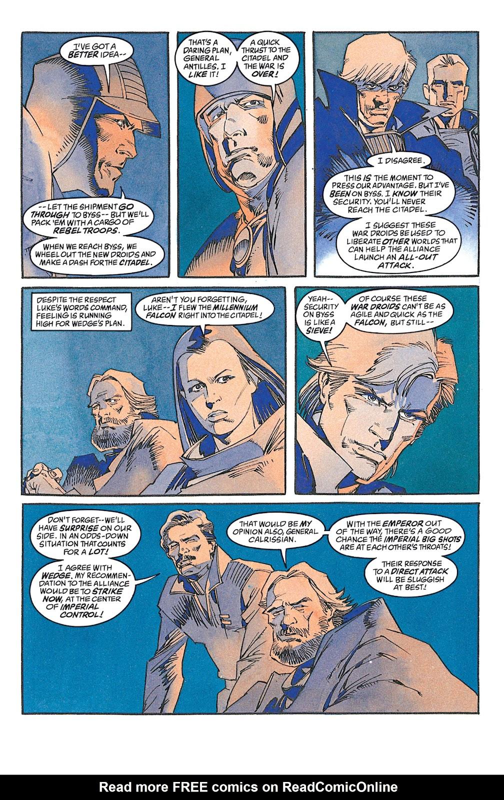 Read online Star Wars: Dark Empire Trilogy comic -  Issue # TPB (Part 2) - 70