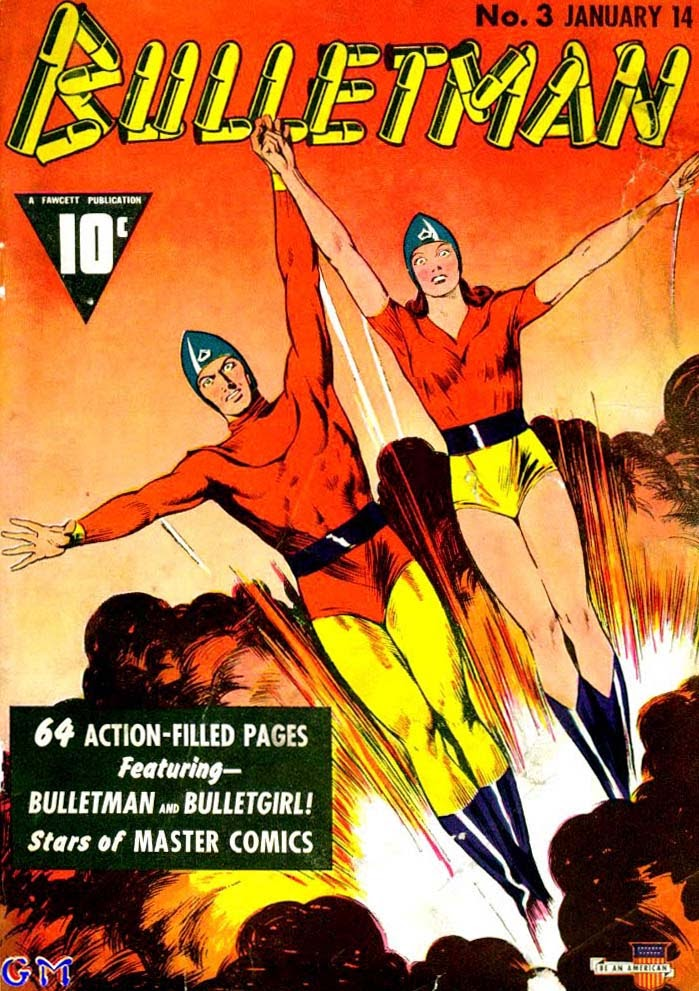 Bulletman issue 3 - Page 1