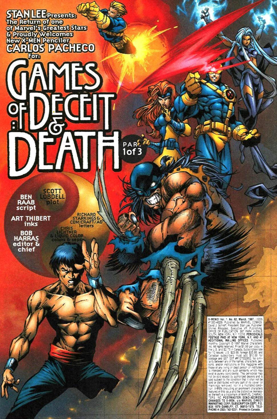 X-Men (1991) 62 Page 1
