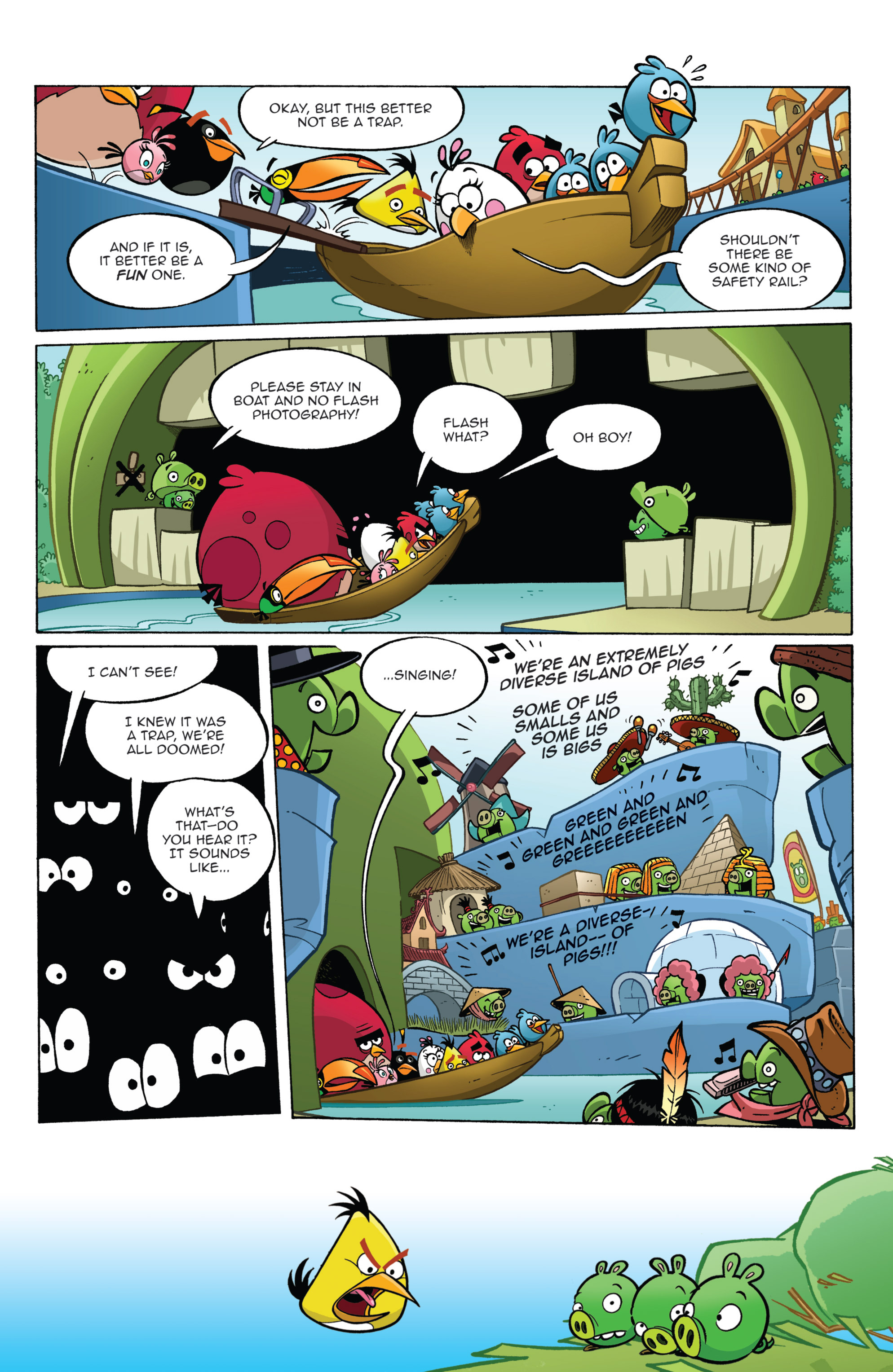 Read online Angry Birds Comics (2014) comic -  Issue #2 - 19