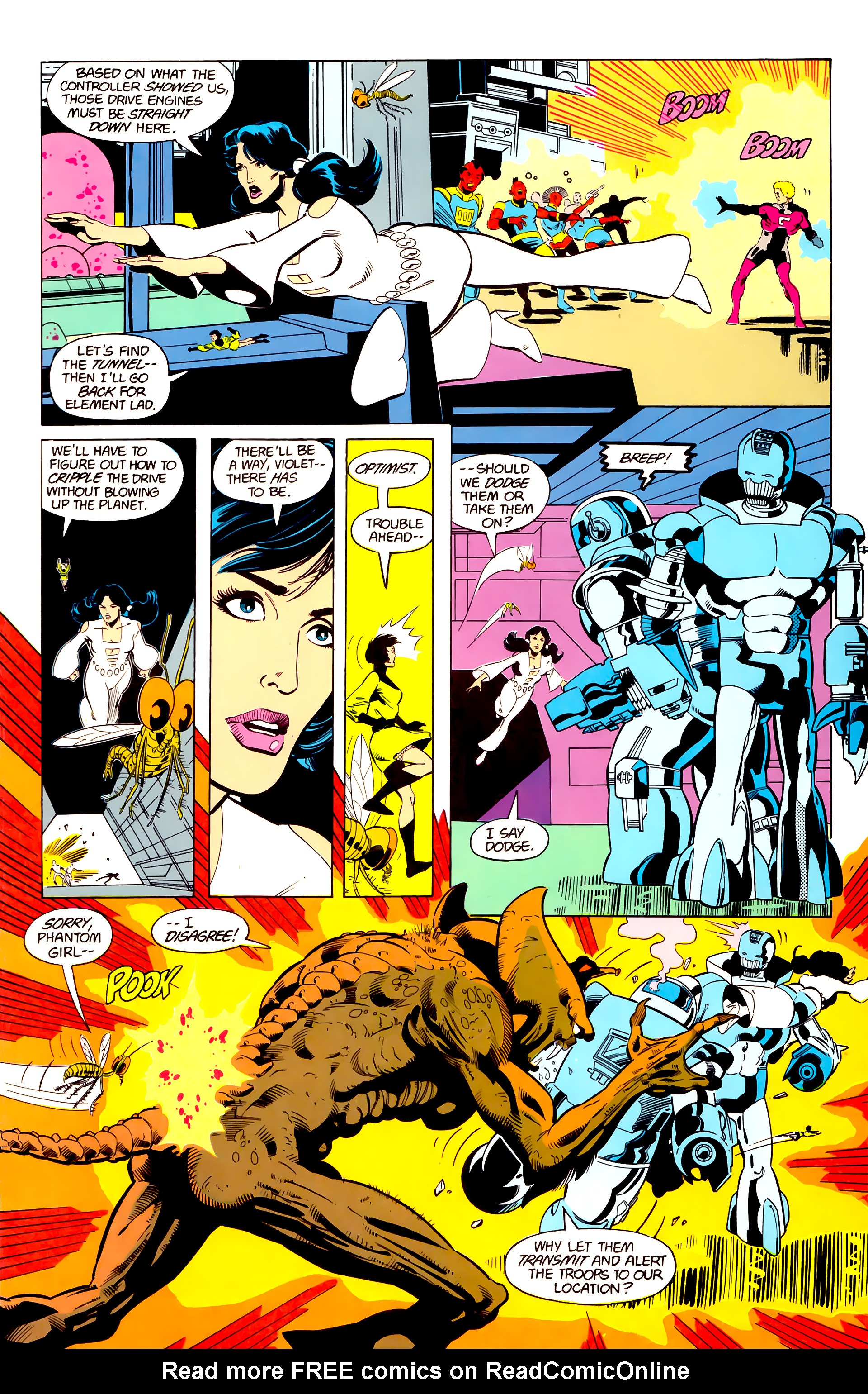 Legion of Super-Heroes (1984) 20 Page 16