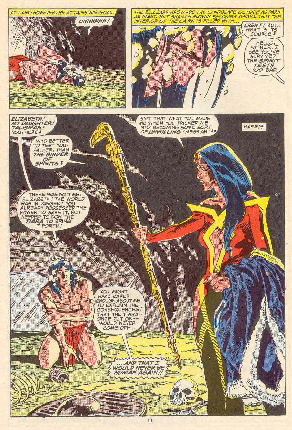 Read online Alpha Flight (1983) comic -  Issue #35 - 18