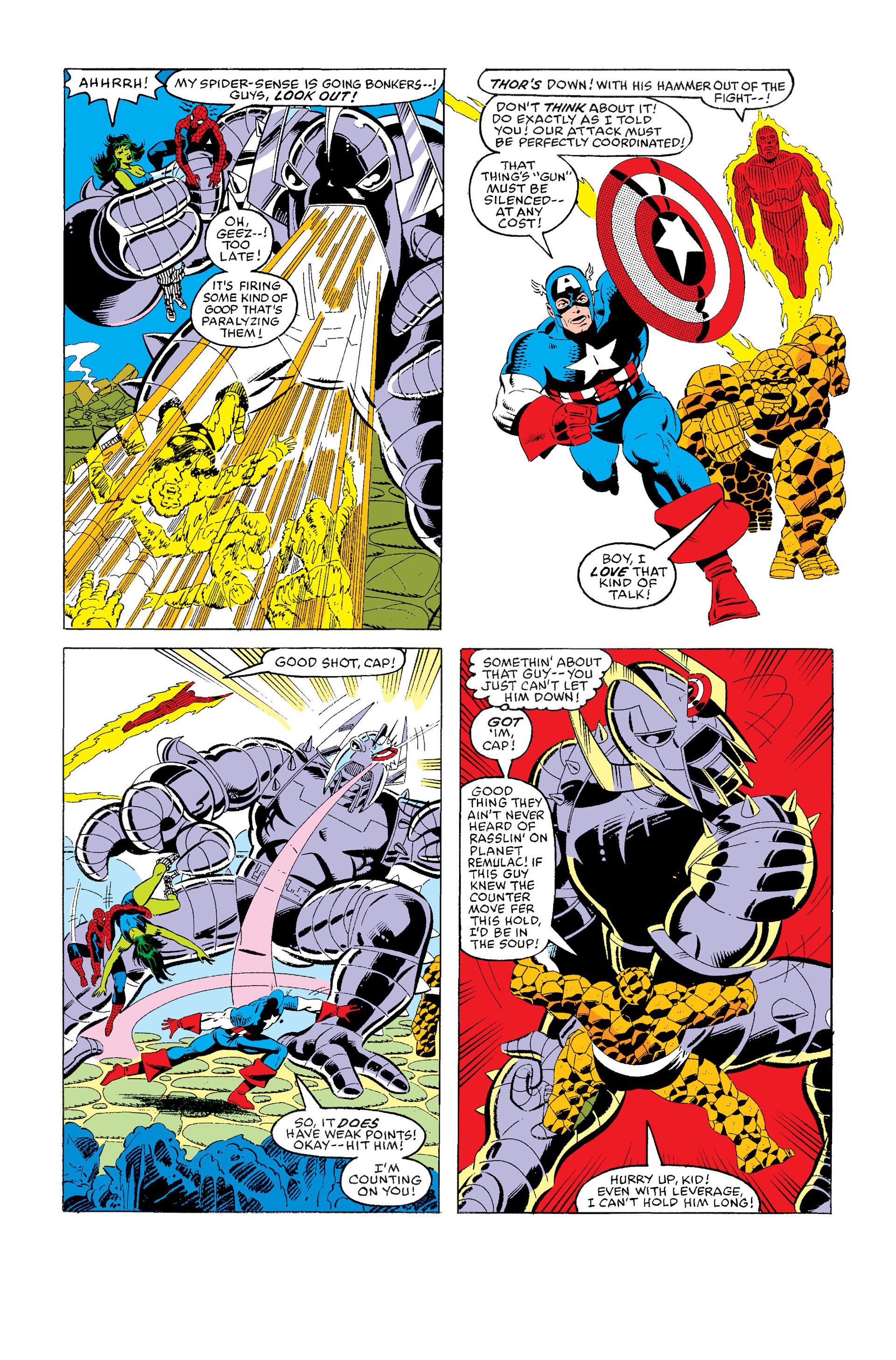 Read online Secret Wars (1985) comic -  Issue #5 - 17