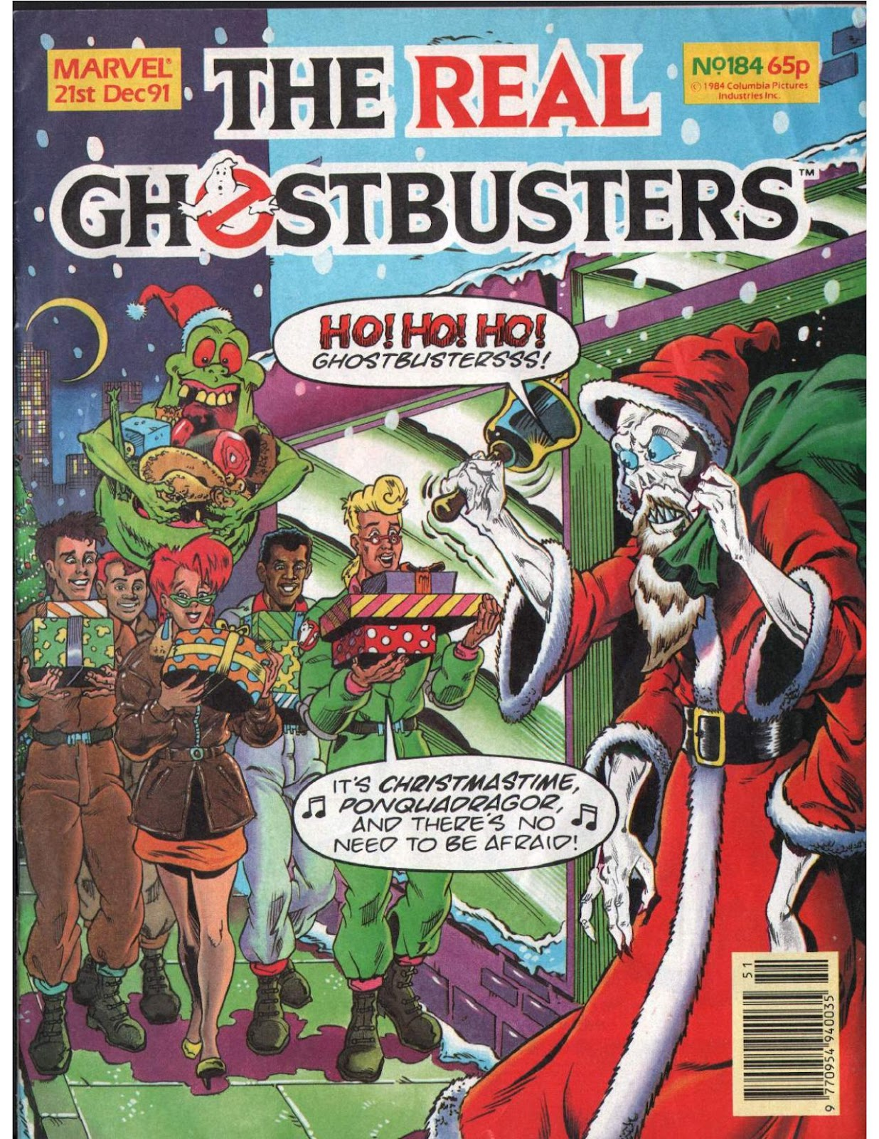 The Real Ghostbusters 184 Page 1