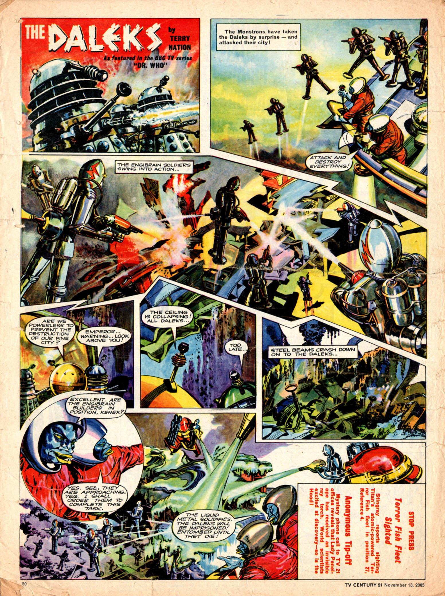 Read online TV Century 21 (TV 21) comic -  Issue #43 - 19