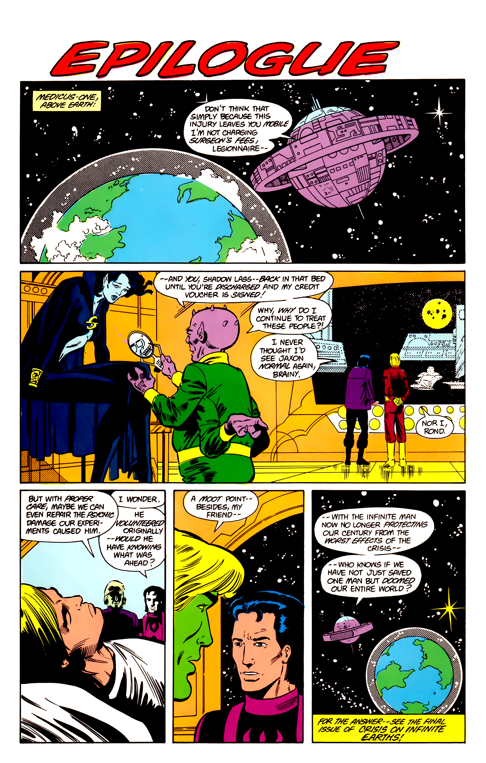 Legion of Super-Heroes (1984) 18 Page 28