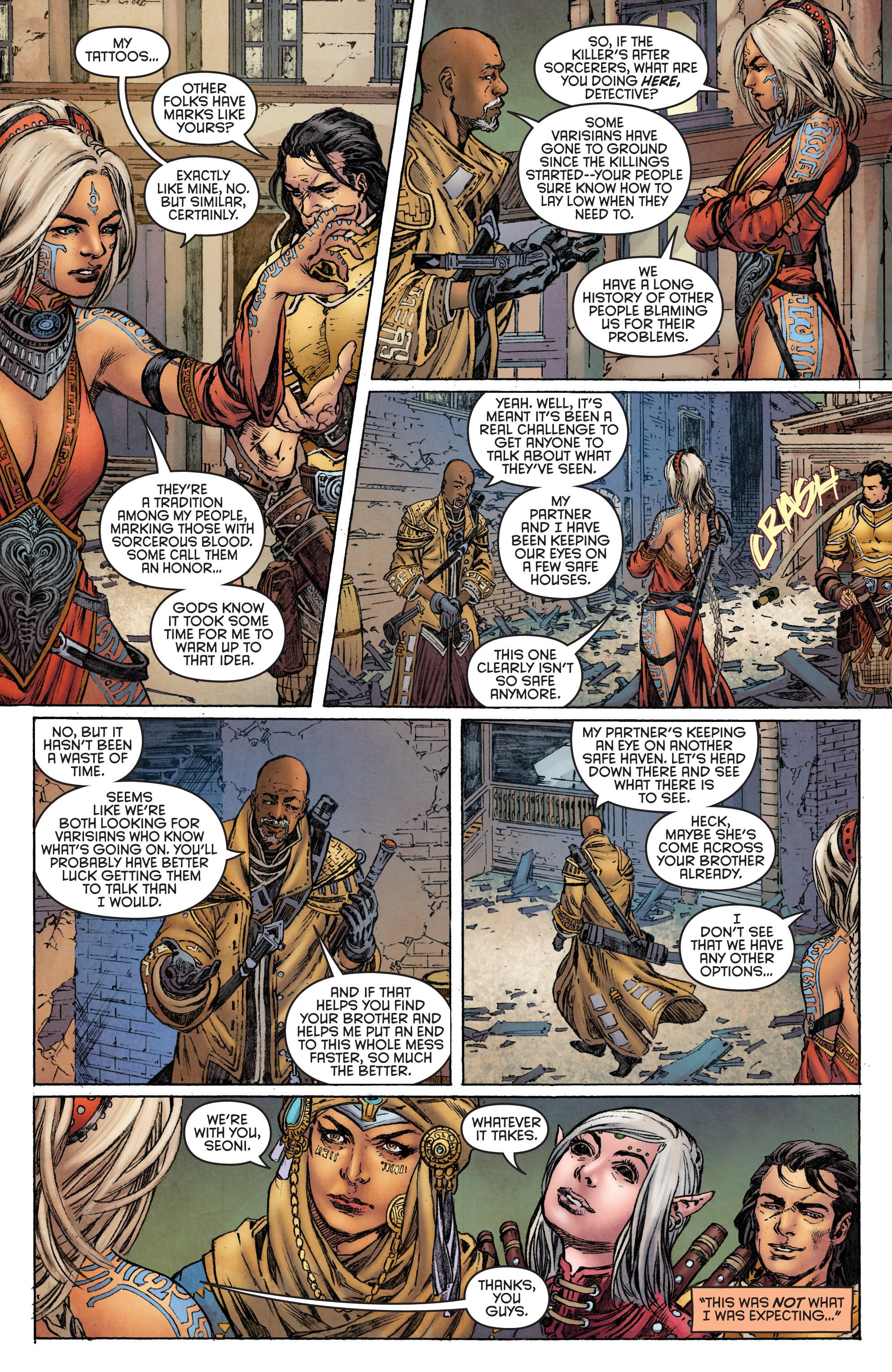 Read online Pathfinder: Runescars comic -  Issue #1 - 15