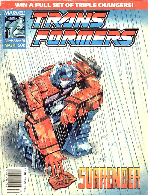 The Transformers (UK) 311 Page 1