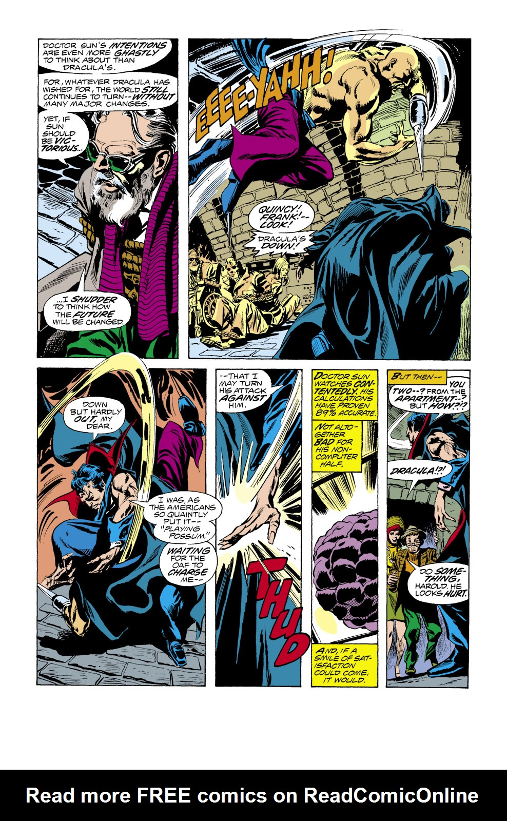 Tomb of Dracula (1972) issue 39 - Page 10