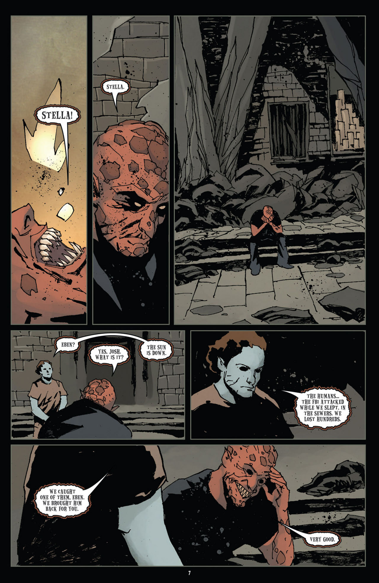 Read online 30 Days of Night (2011) comic -  Issue #11 - 9