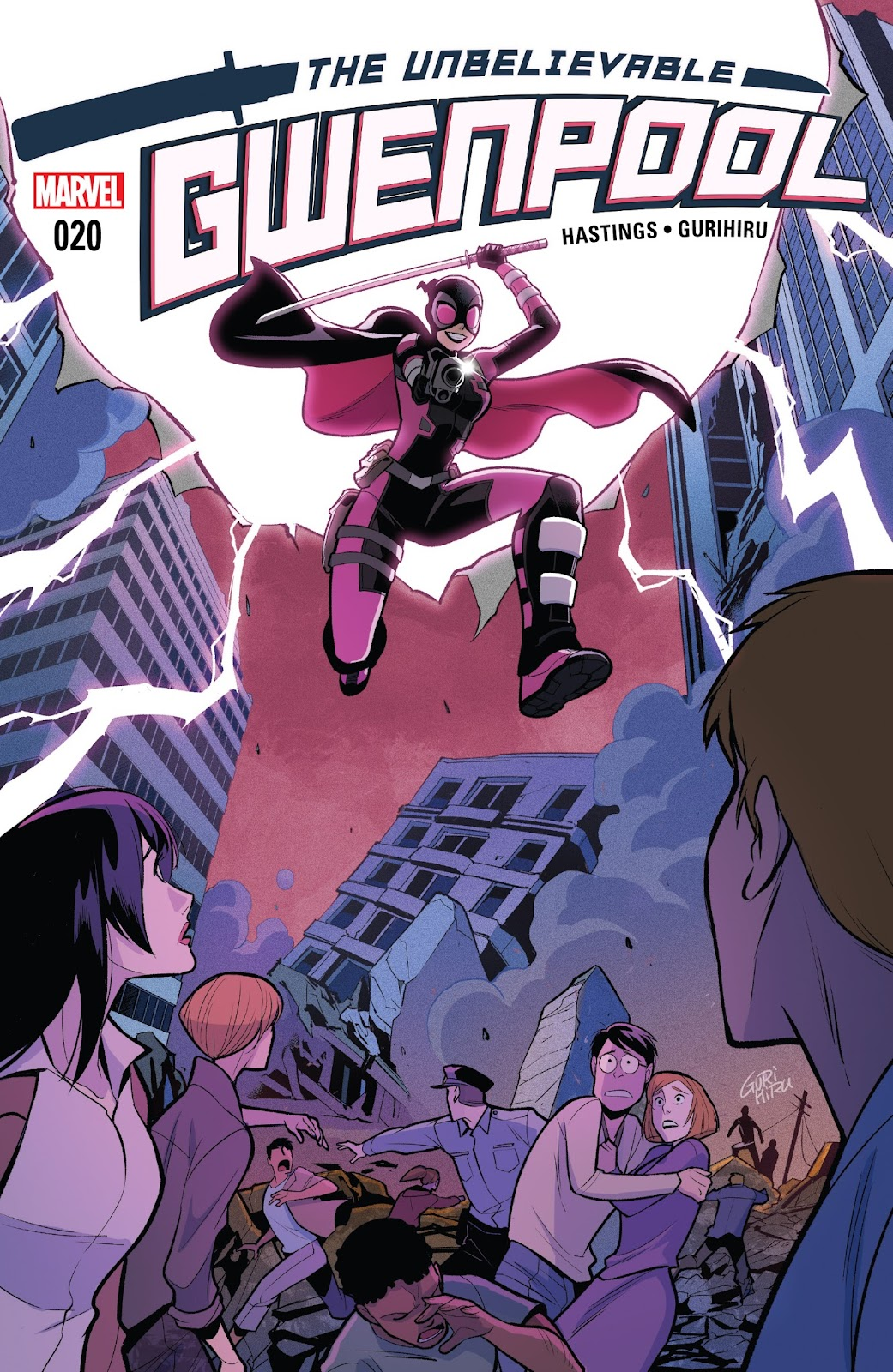 The Unbelievable Gwenpool 20 Page 1