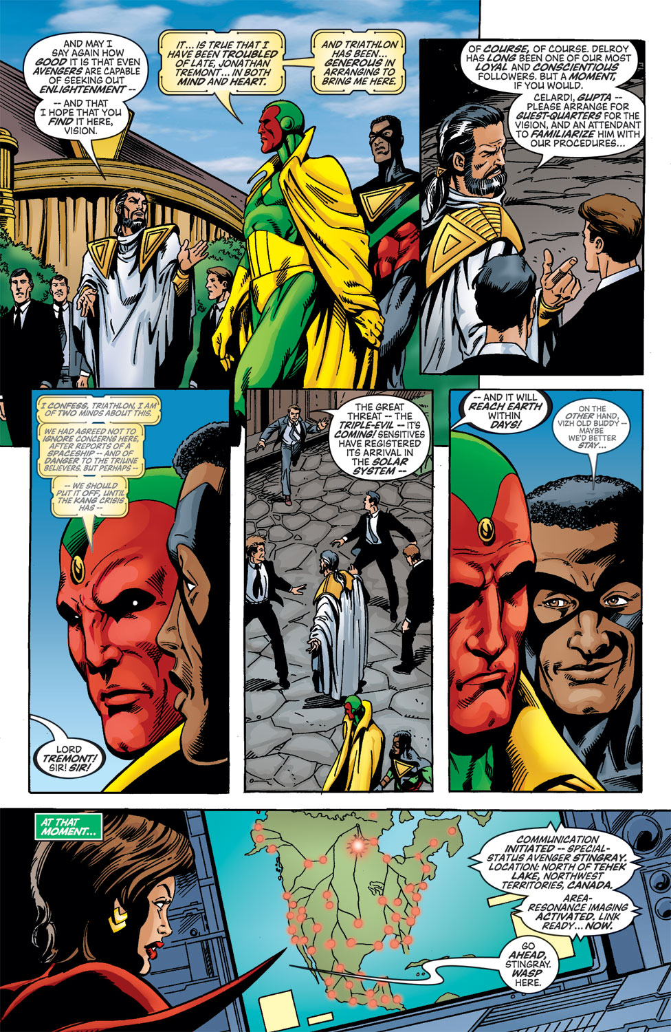 Read online Avengers (1998) comic -  Issue #46 - 11