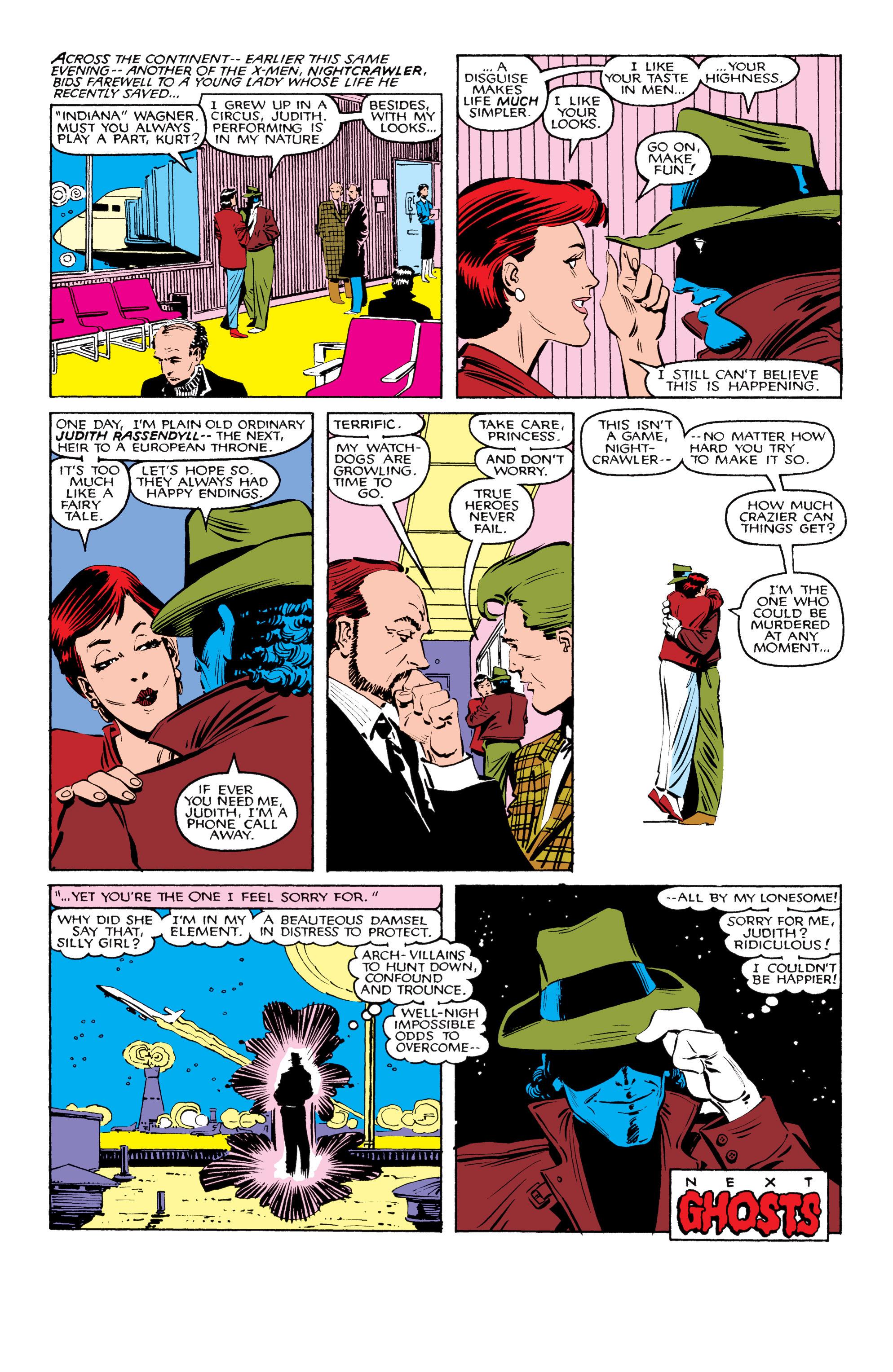 Read online Uncanny X-Men (1963) comic -  Issue #206 - 23