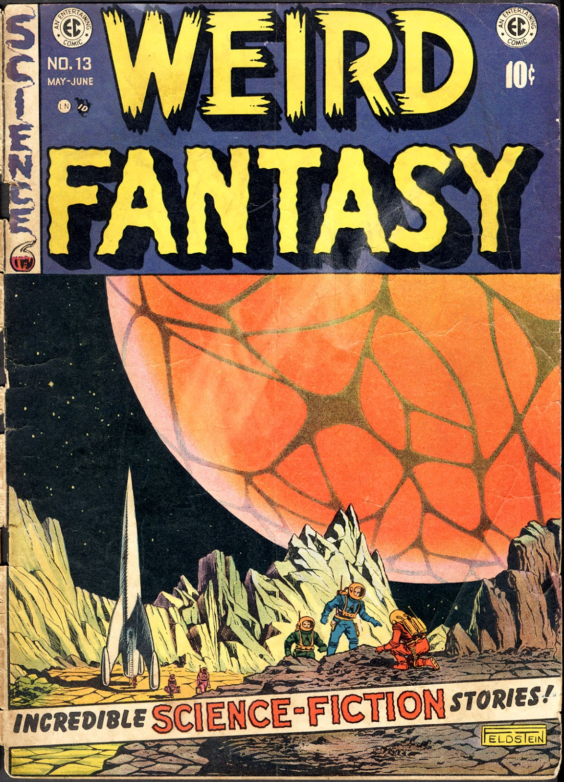 Weird Fantasy (1951) issue 13 - Page 1