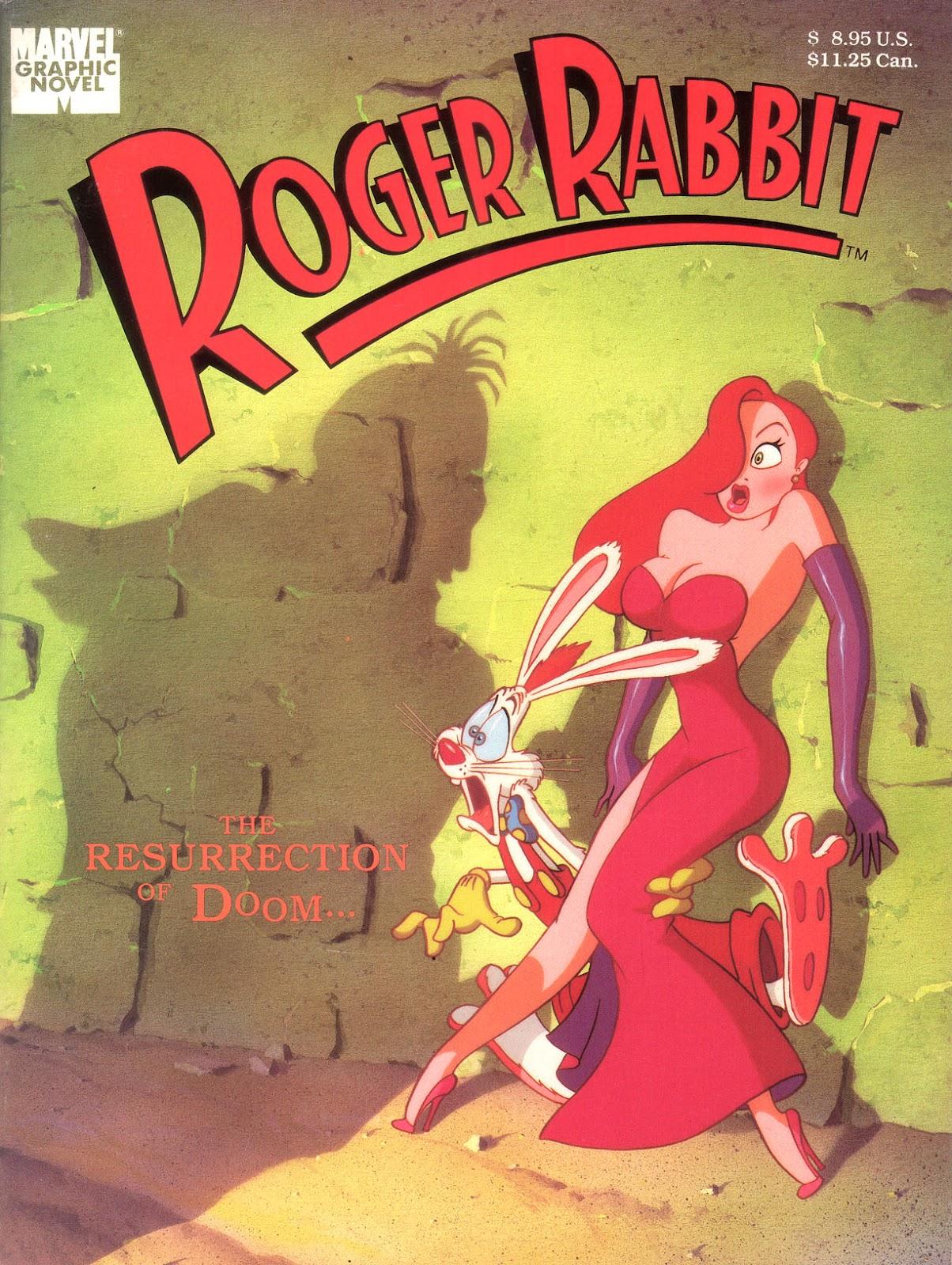 Marvel Graphic Novel: Roger Rabbit in The Resurrection of Doom issue Full - Page 1