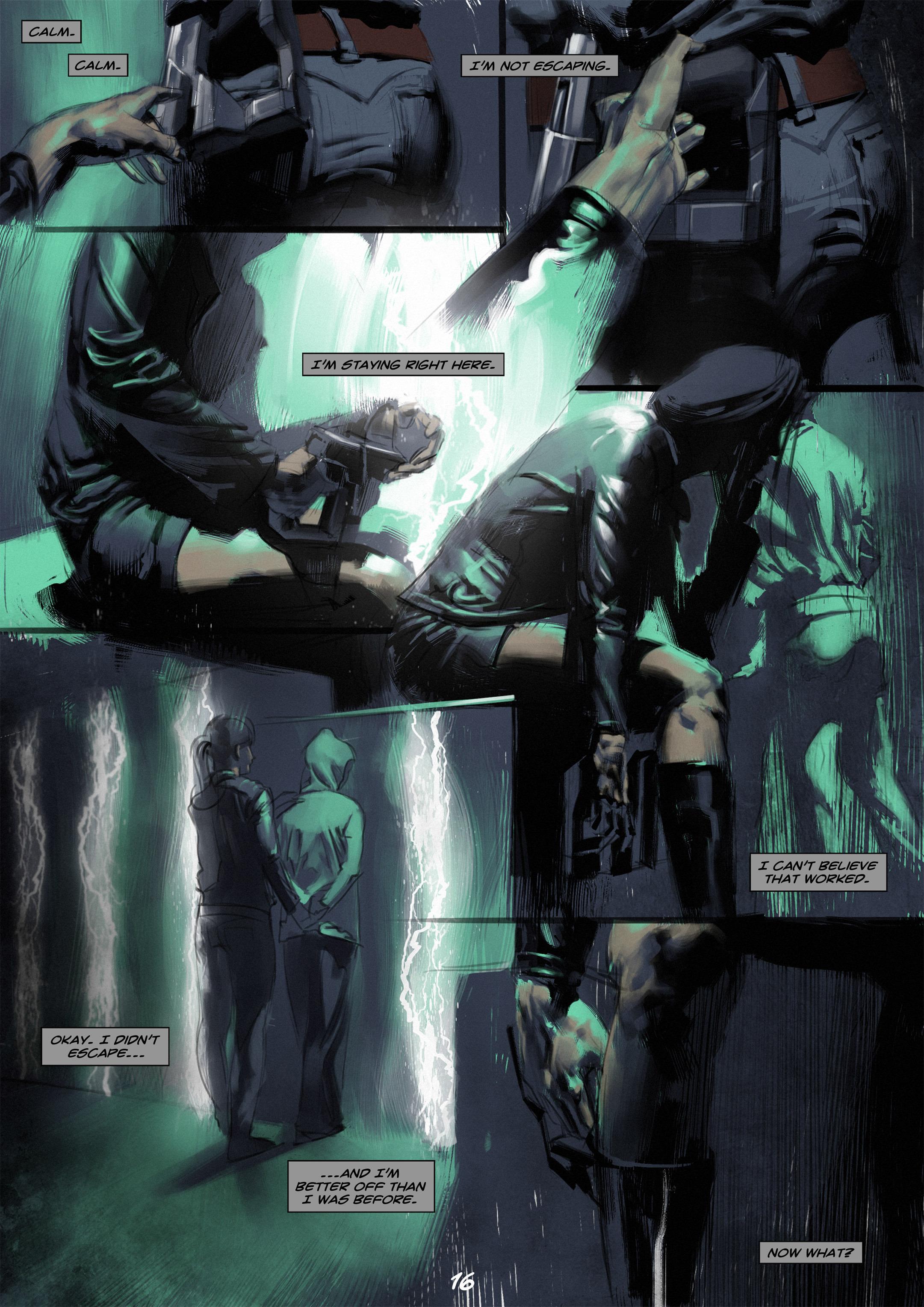 Read online Wynter comic -  Issue #2 - 17
