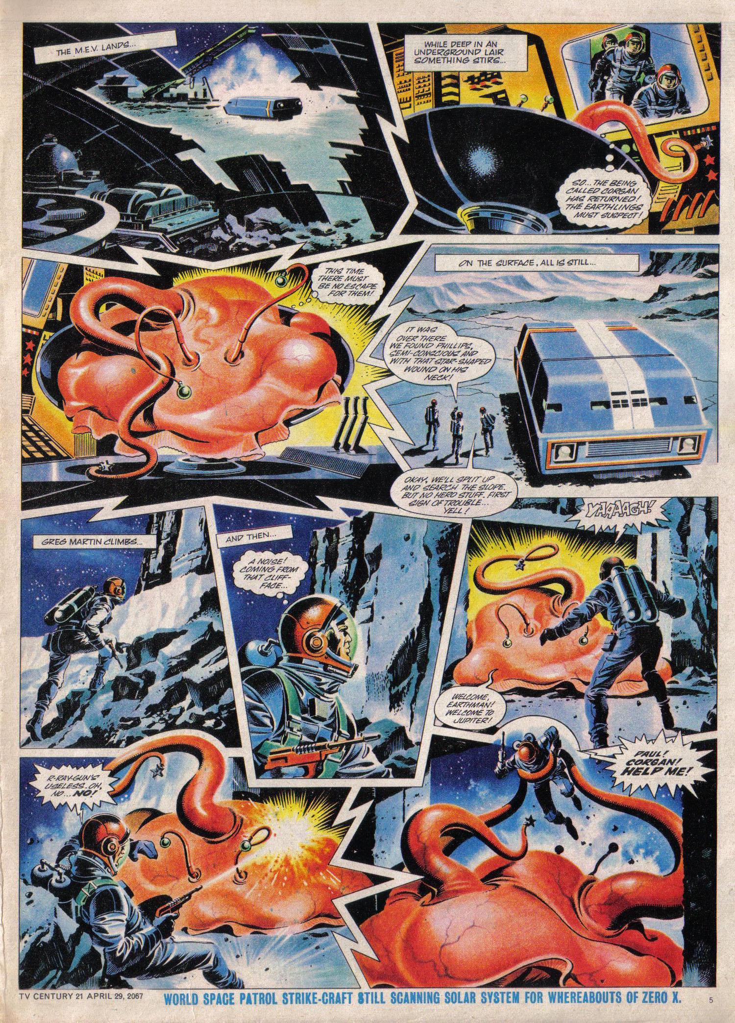Read online TV Century 21 (TV 21) comic -  Issue #119 - 5