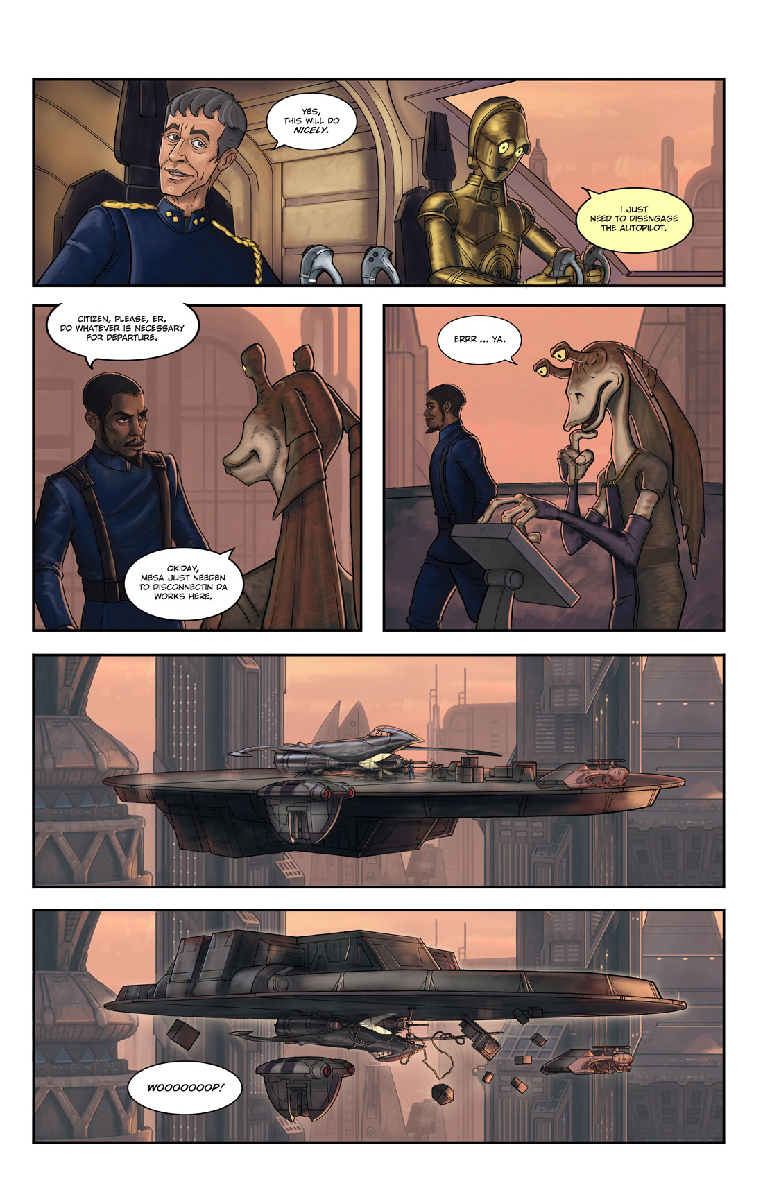 Read online Star Wars: Tales From The Clone Wars comic -  Issue # TPB - 57