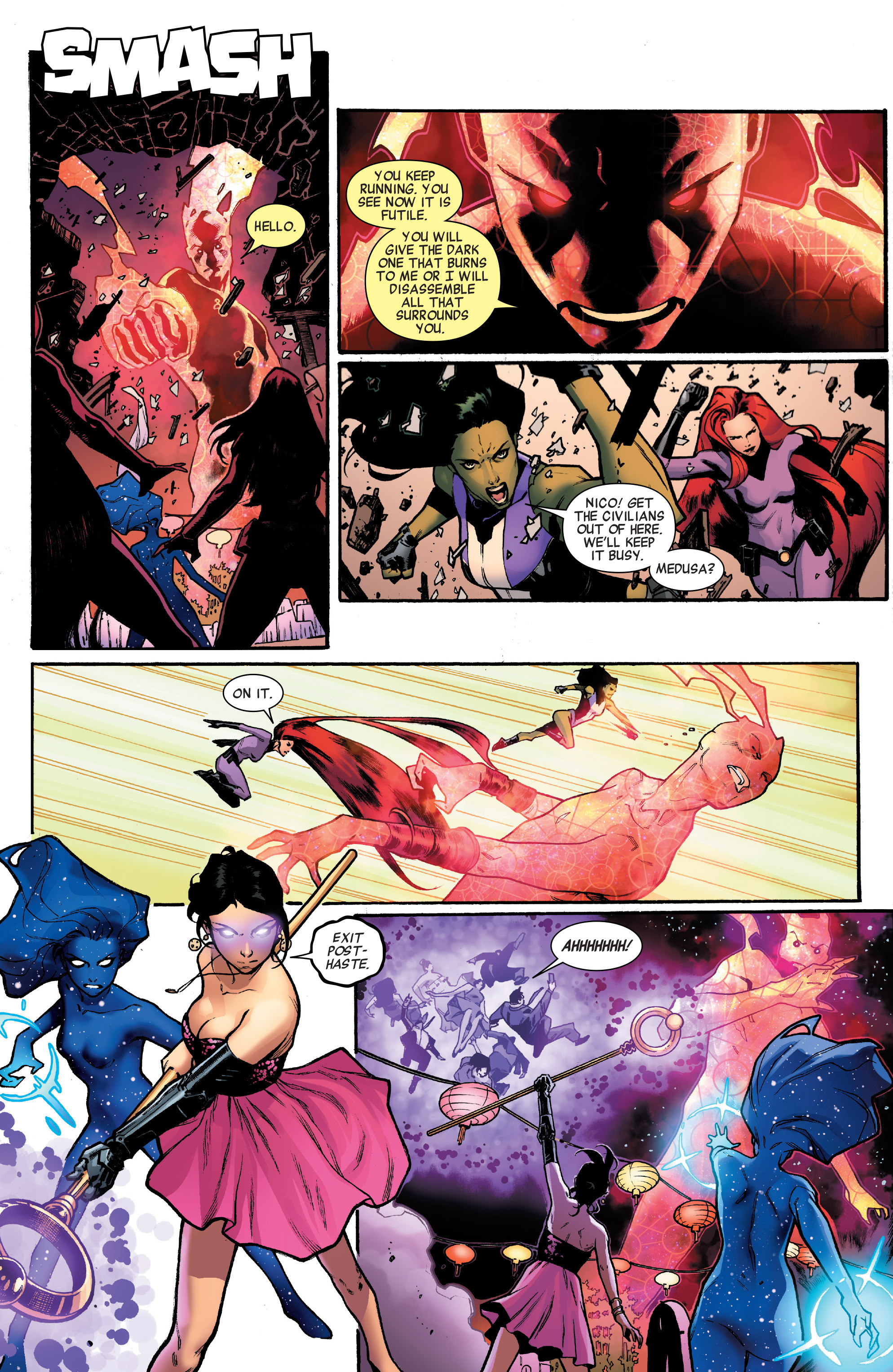 Read online A-Force (2016) comic -  Issue #2 - 12