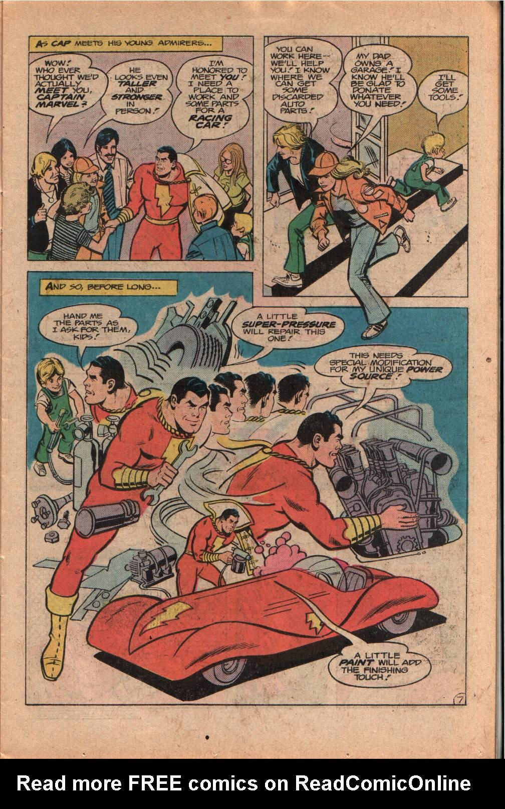 Read online Shazam! (1973) comic -  Issue #33 - 11