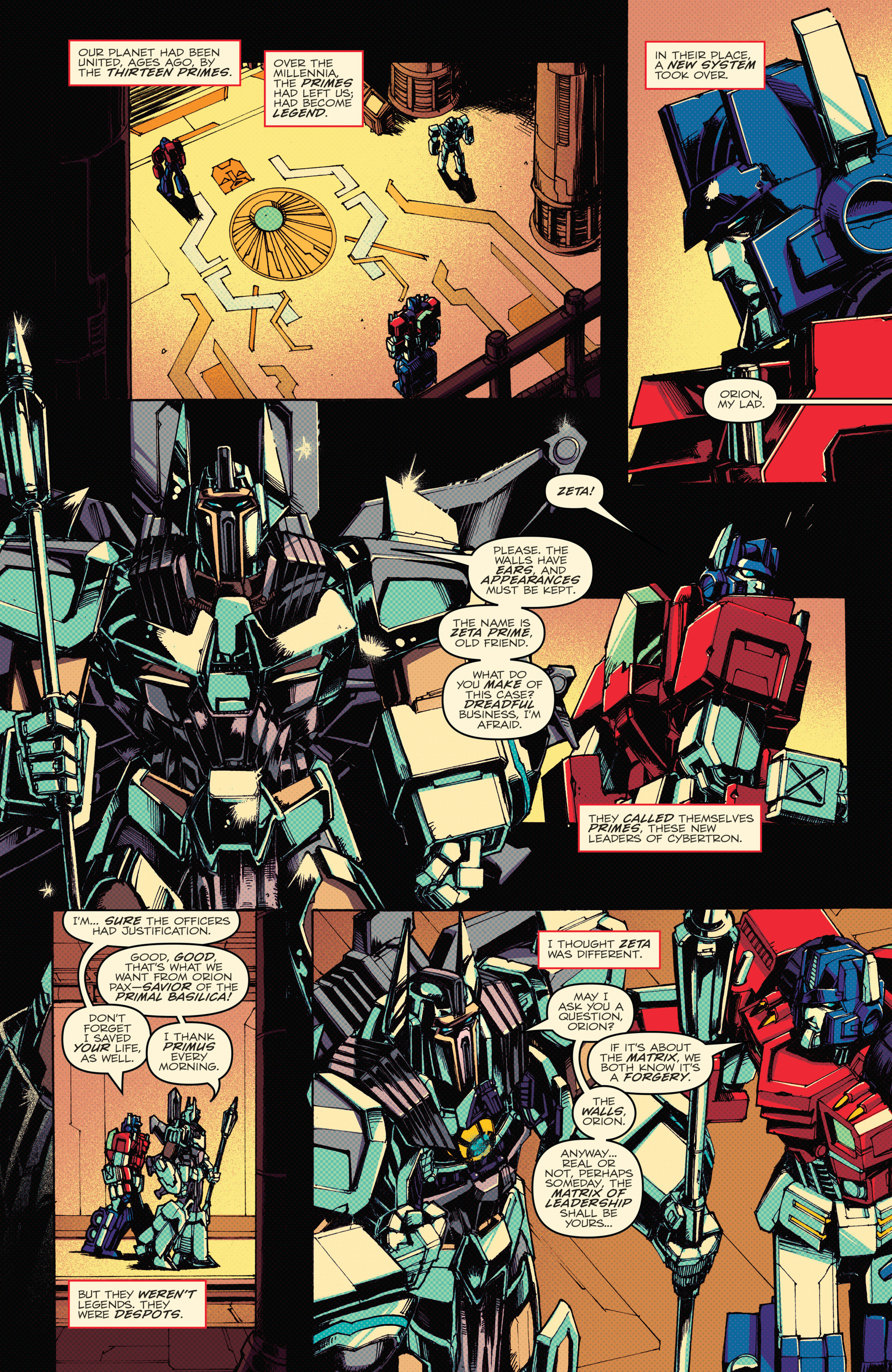 Read online Transformers: Lost Light comic -  Issue #1 - 34