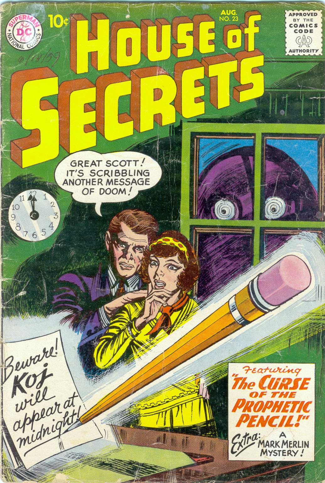 House of Secrets (1956) issue 23 - Page 1