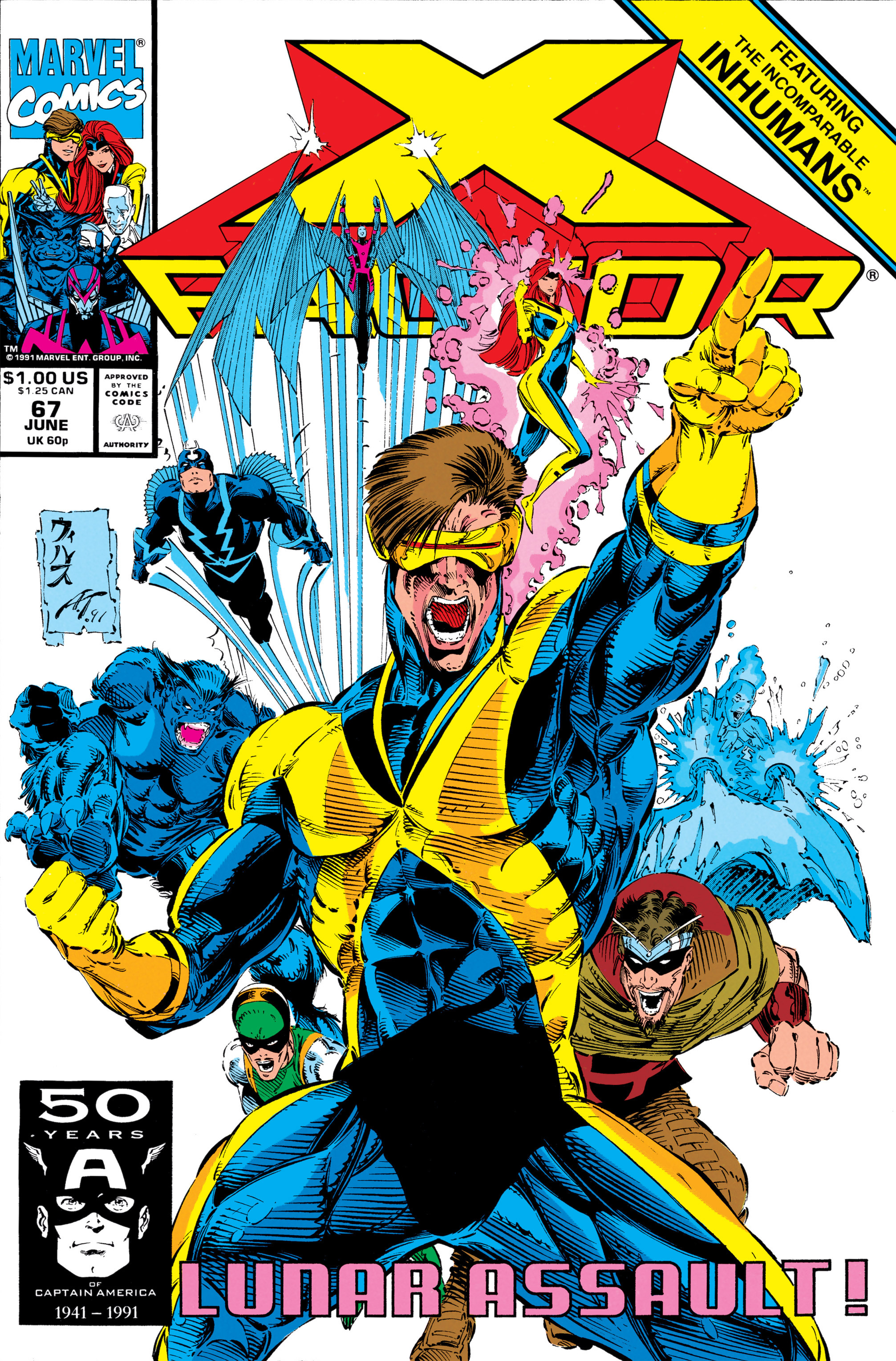 Read online X-Factor (1986) comic -  Issue #67 - 1
