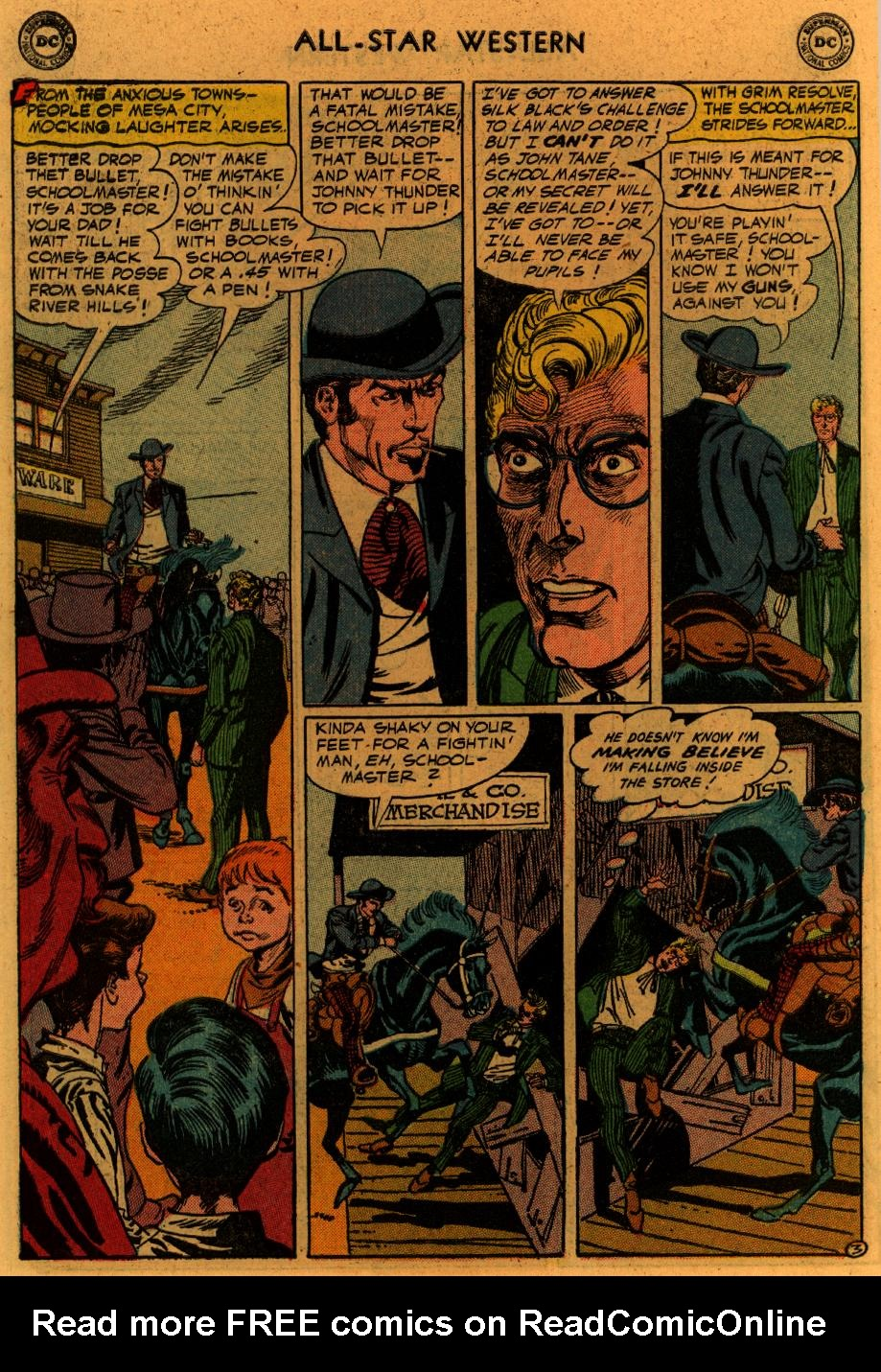 Read online All-Star Western (1951) comic -  Issue #89 - 31