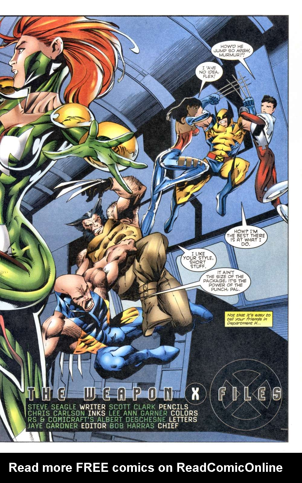 Read online Alpha Flight (1997) comic -  Issue #8 - 26