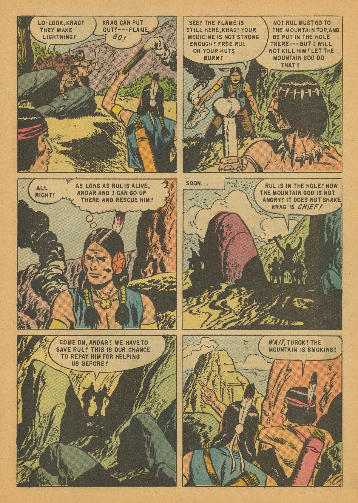 Read online Turok, Son of Stone comic -  Issue #14 - 9