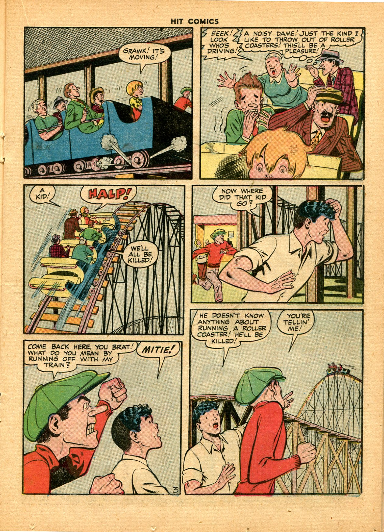 Read online Hit Comics comic -  Issue #49 - 23