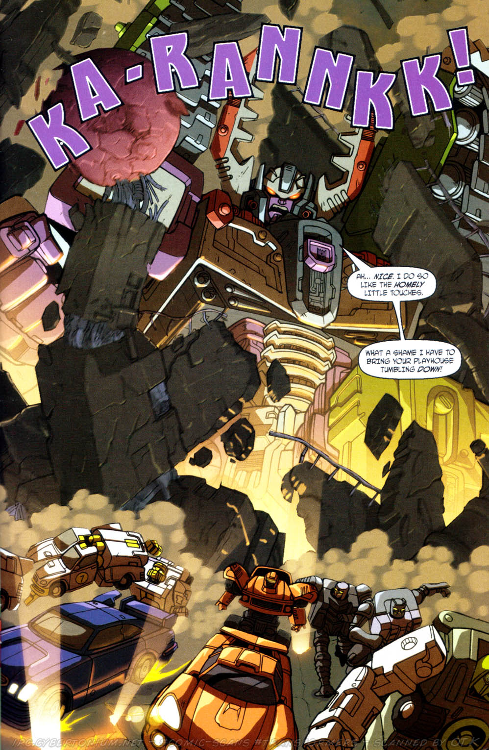 Read online Transformers Armada comic -  Issue #11 - 5