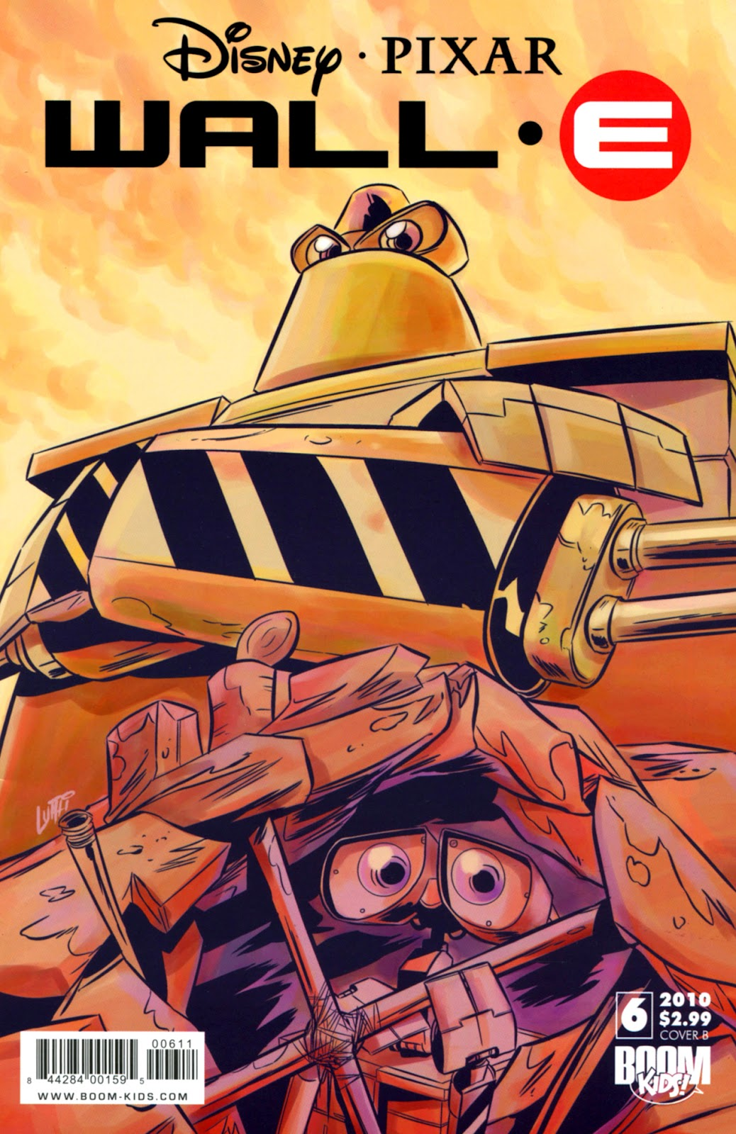 WALL•E (2009) issue 6 - Page 1