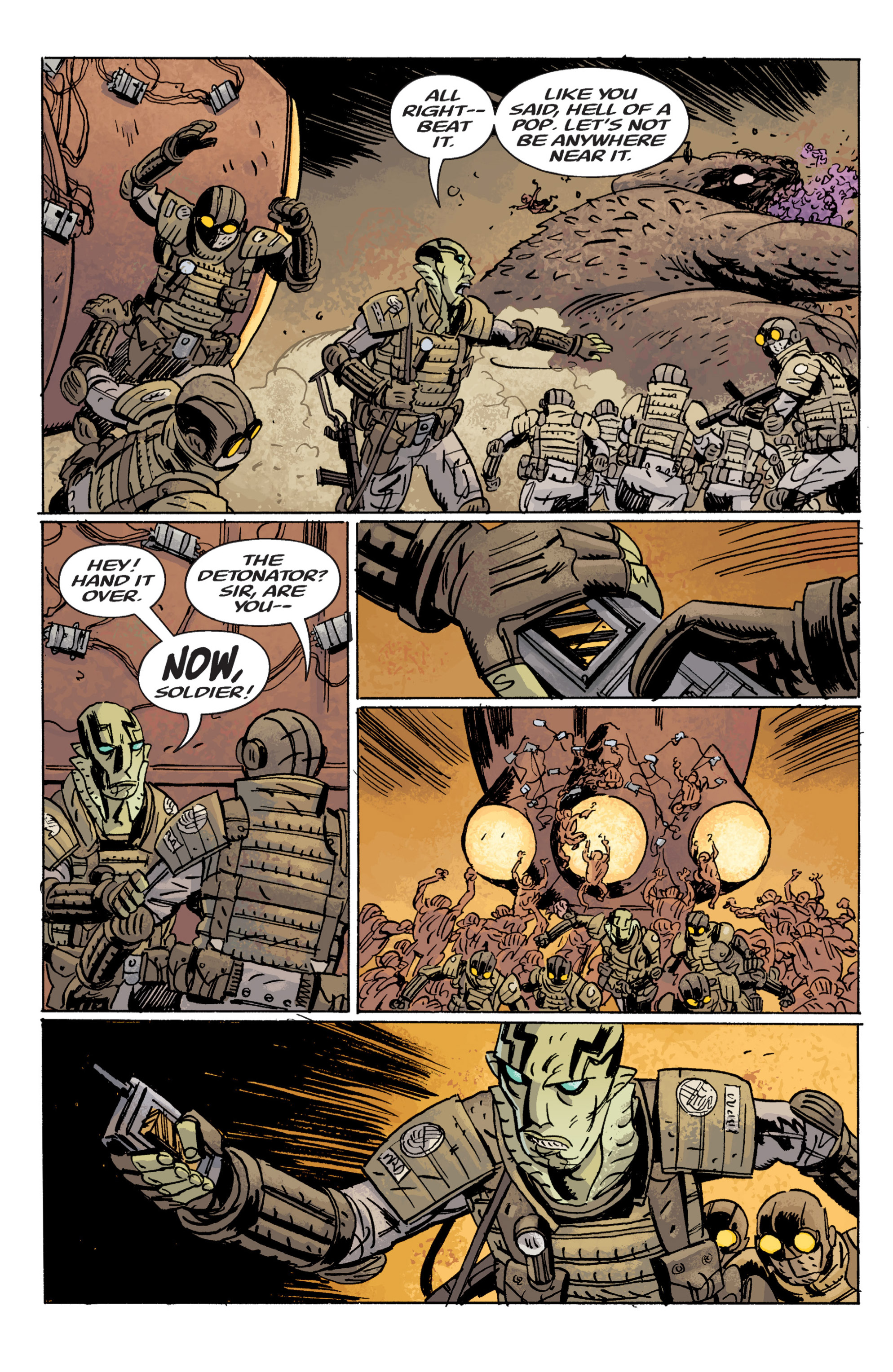 Read online B.P.R.D. (2003) comic -  Issue # TPB 10 - 113