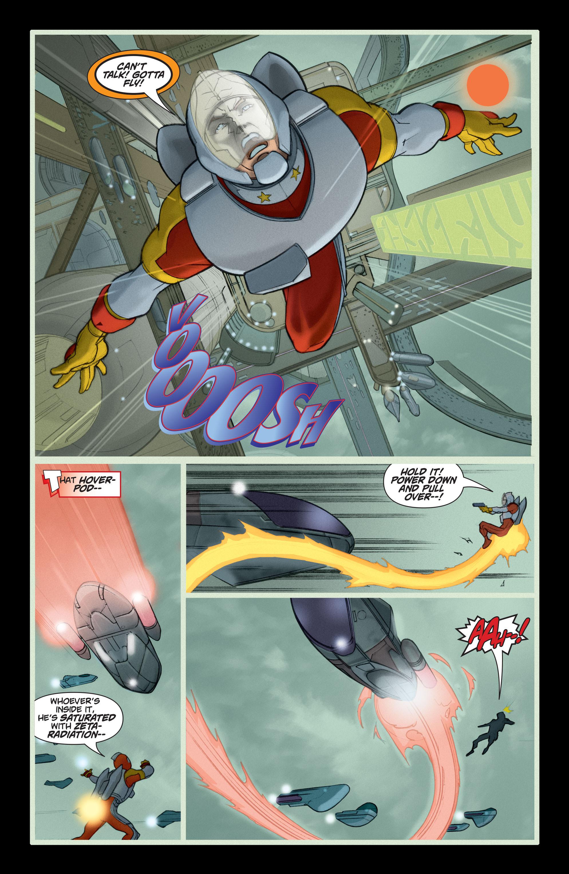 Read online Adam Strange (2004) comic -  Issue #5 - 20
