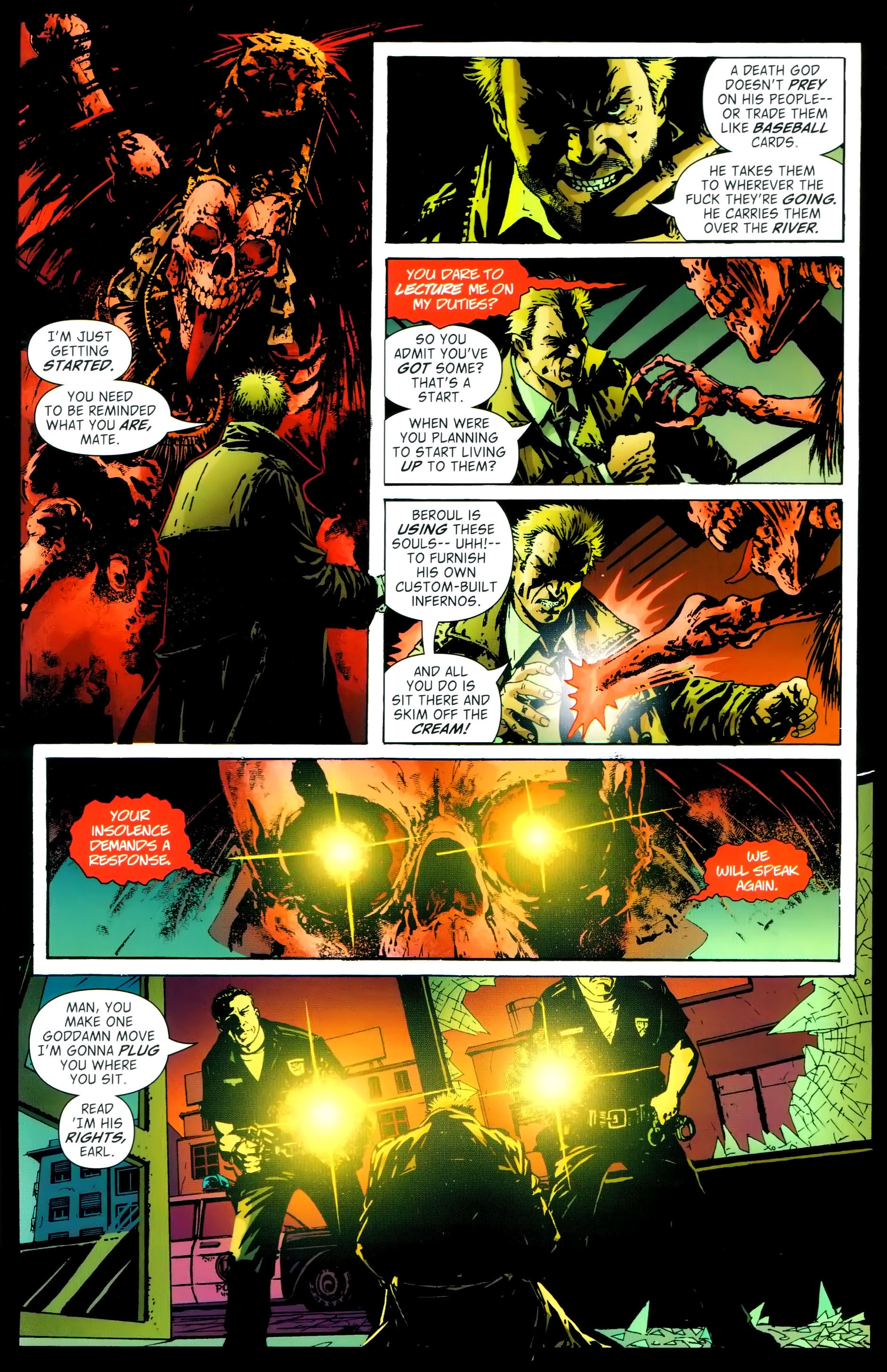 Read online John Constantine Hellblazer: All His Engines comic -  Issue # Full - 91