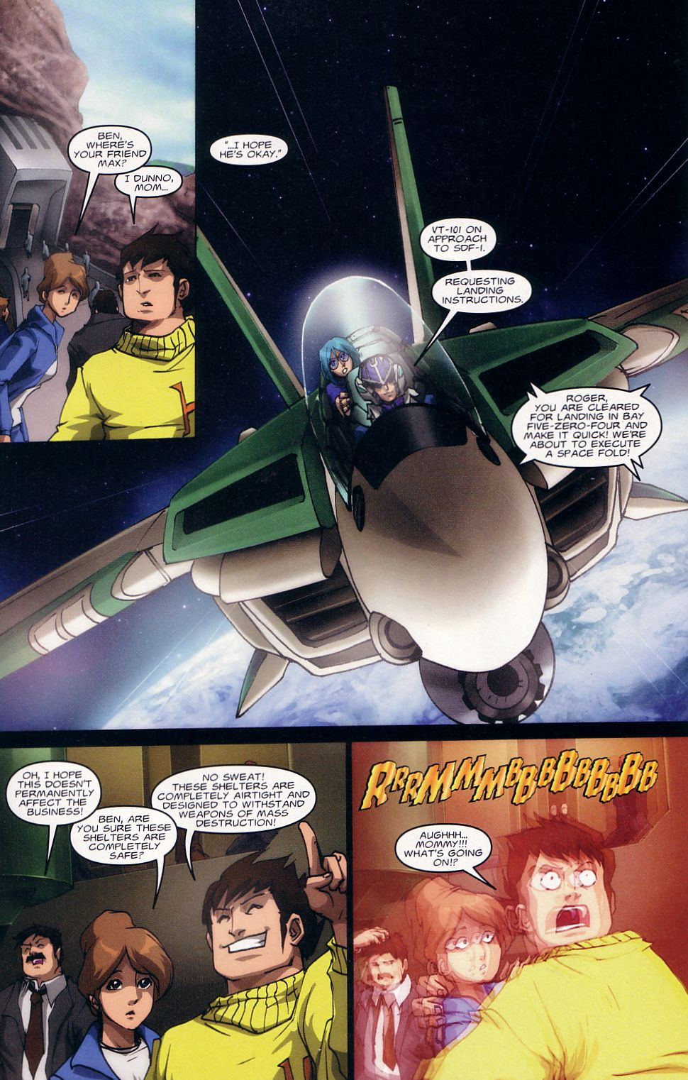 Read online Robotech: Love and War comic -  Issue #1 - 12