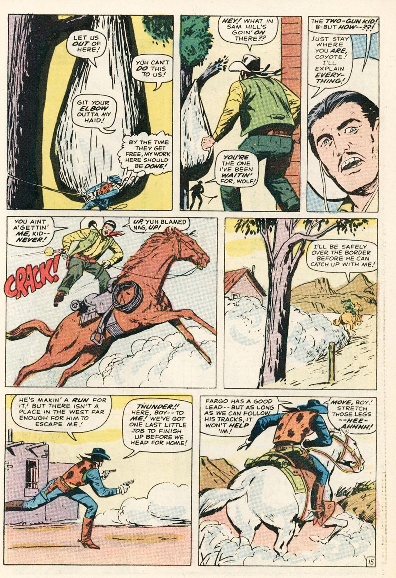 Read online Two-Gun Kid comic -  Issue #95 - 23