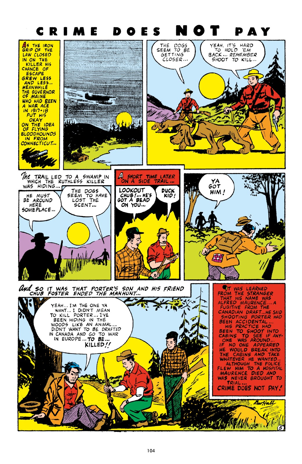 Read online Crime Does Not Pay Archives comic -  Issue # TPB 4 (Part 2) - 4