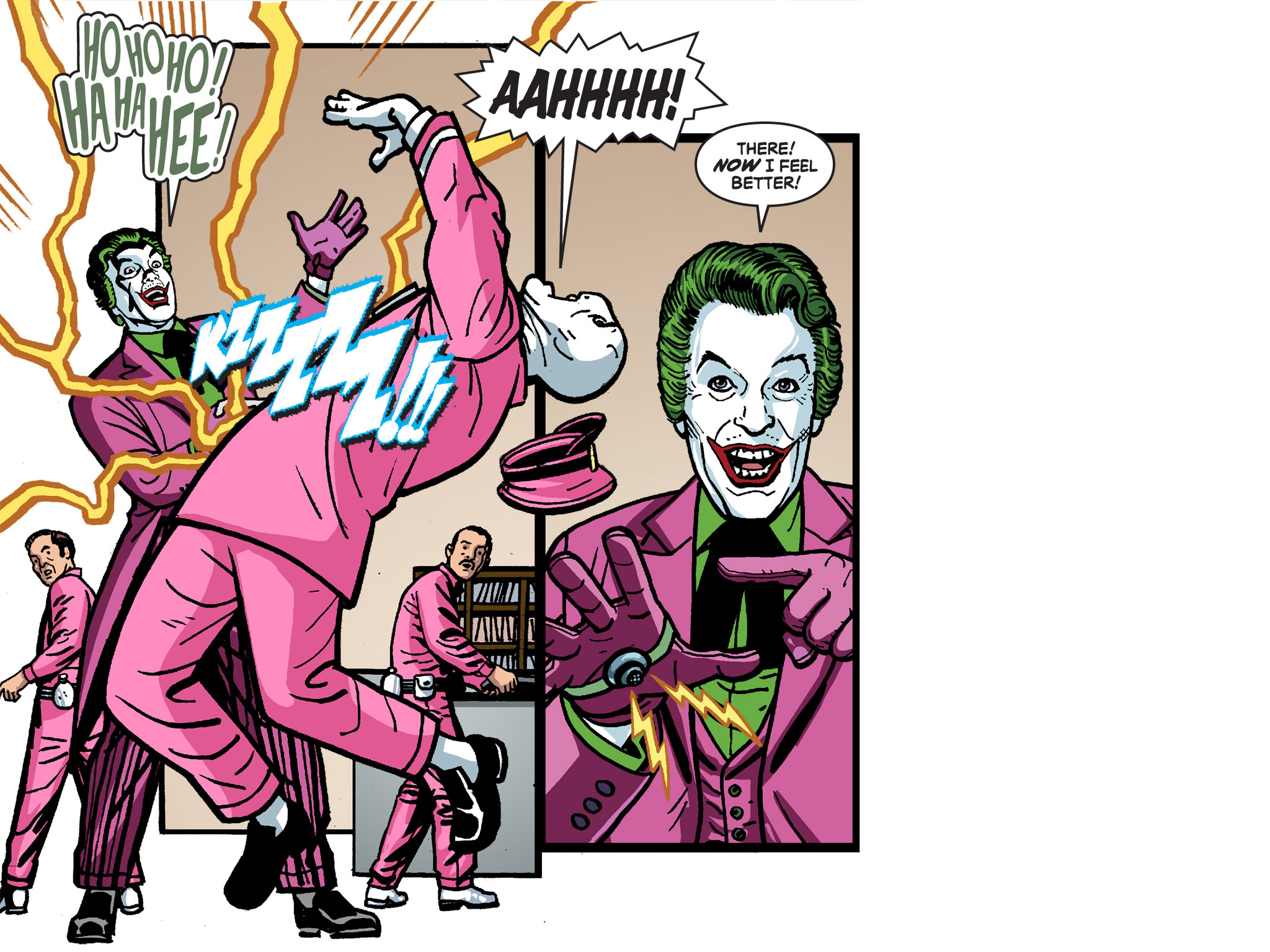 Read online Batman '66 Meets the Green Hornet [II] comic -  Issue #4 - 25