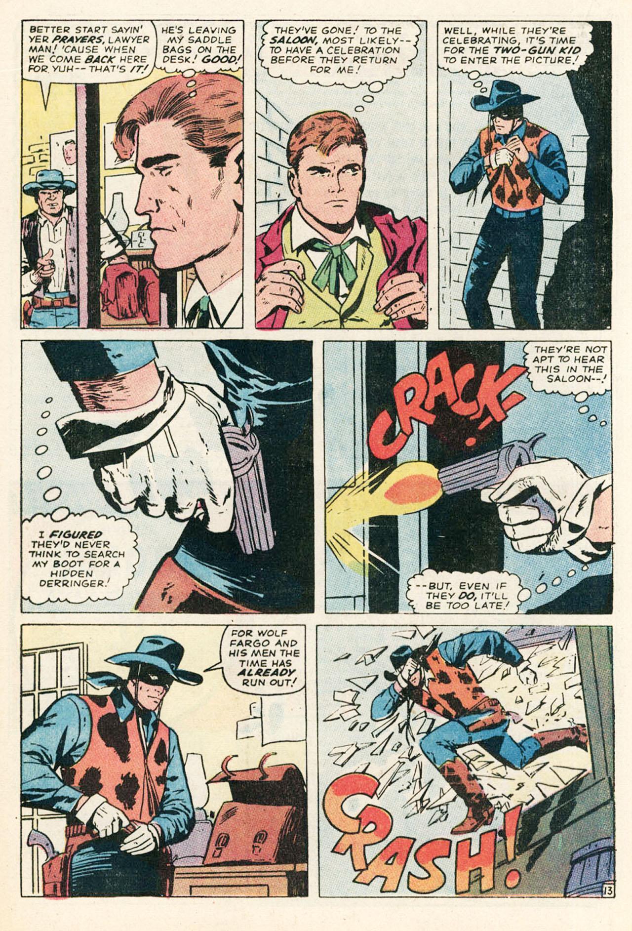 Read online Two-Gun Kid comic -  Issue #95 - 20