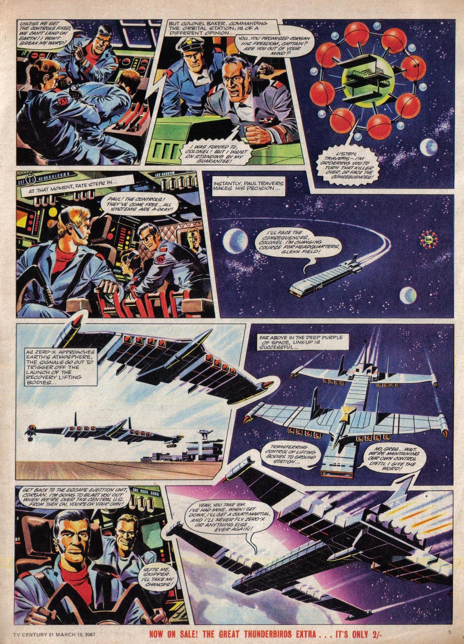 Read online TV Century 21 (TV 21) comic -  Issue #113 - 5