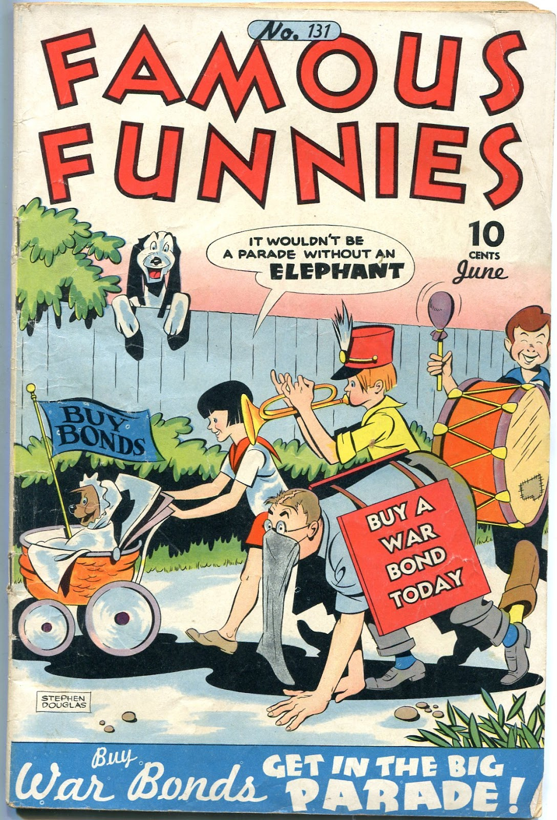 Read online Famous Funnies comic -  Issue #131 - 1