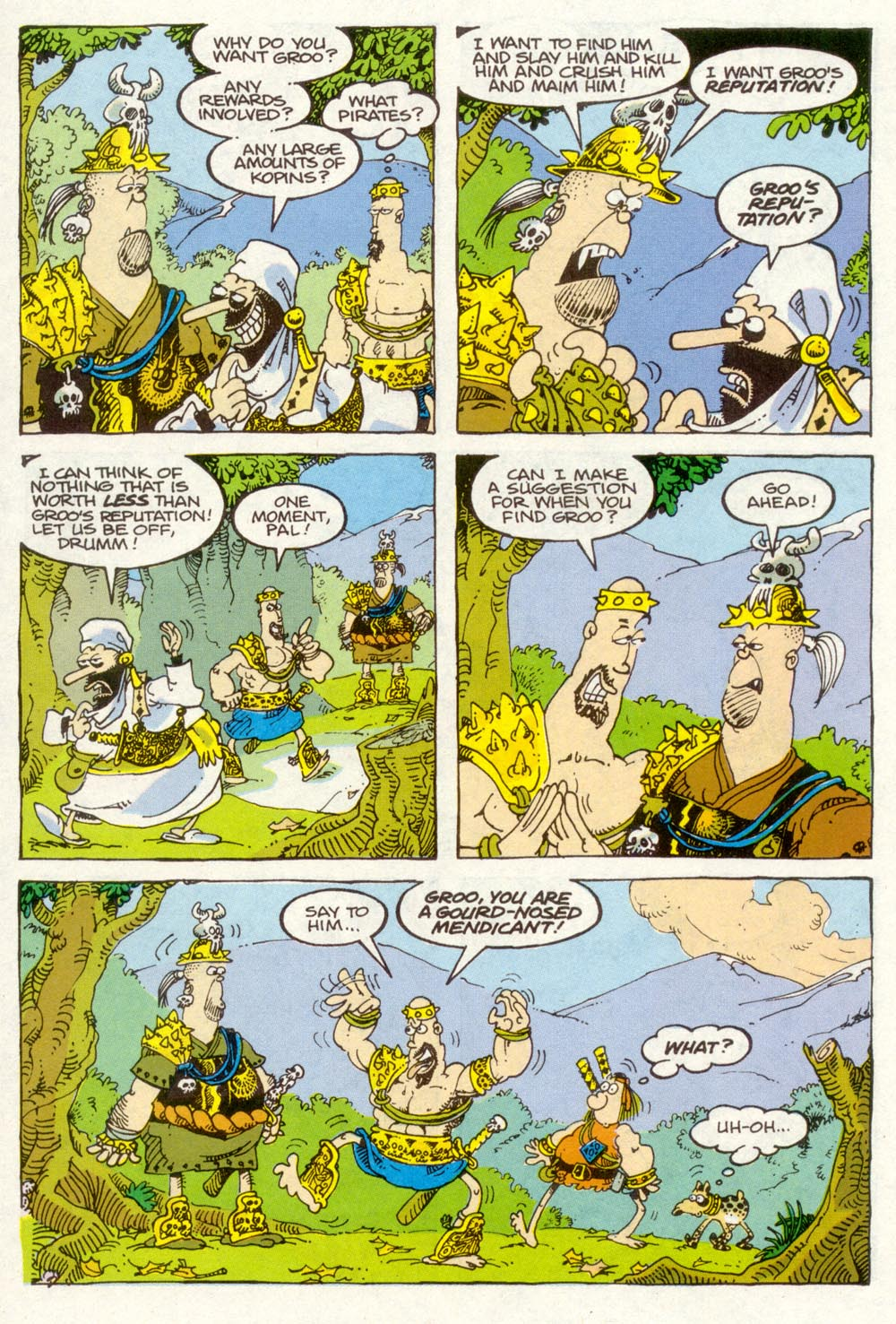 Read online Sergio Aragonés Groo the Wanderer comic -  Issue #91 - 17
