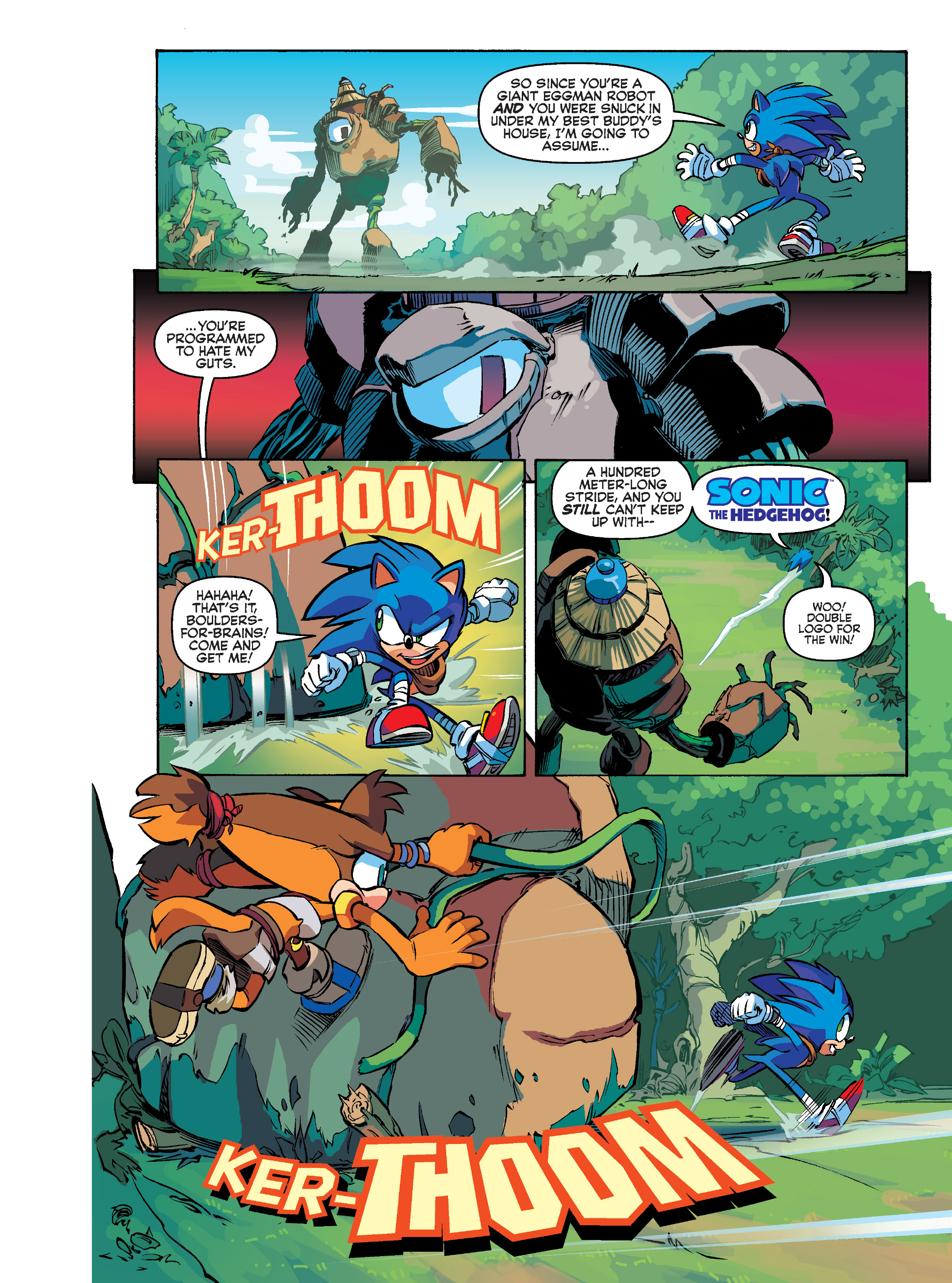 Read online Sonic Super Digest comic -  Issue #10 - 16
