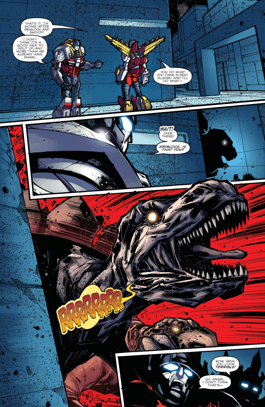 Read online Transformers Prime: Beast Hunters comic -  Issue #4 - 15