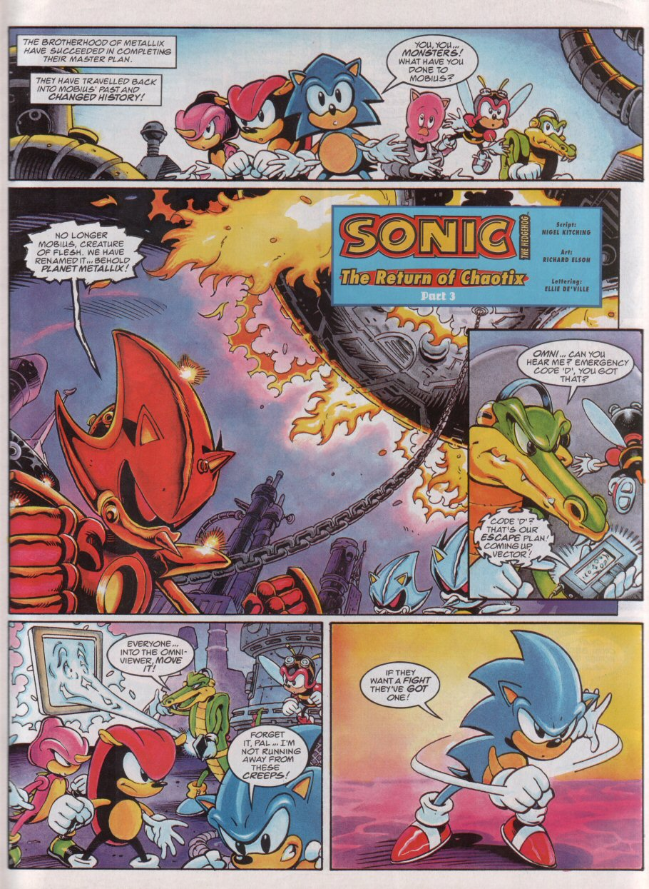 Read online Sonic the Comic comic -  Issue #69 - 3