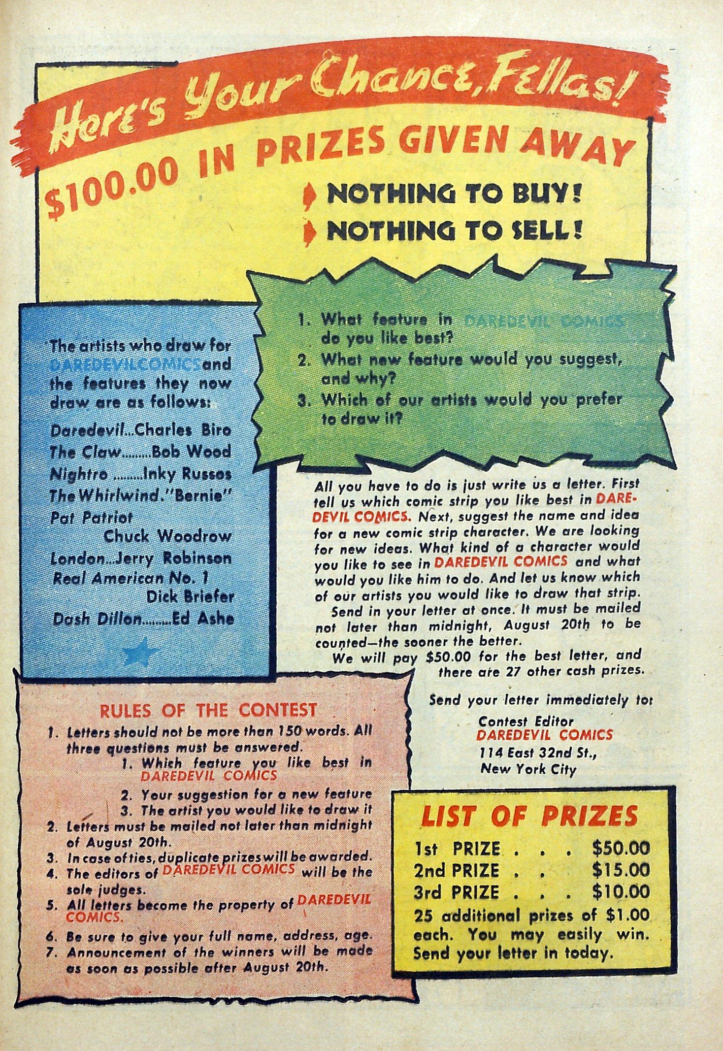Daredevil (1941) issue 3 - Page 49